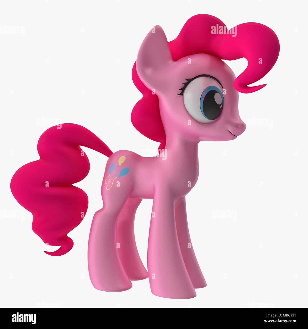 Cartoon horse 3D models  My little pony 3D models for download Stock