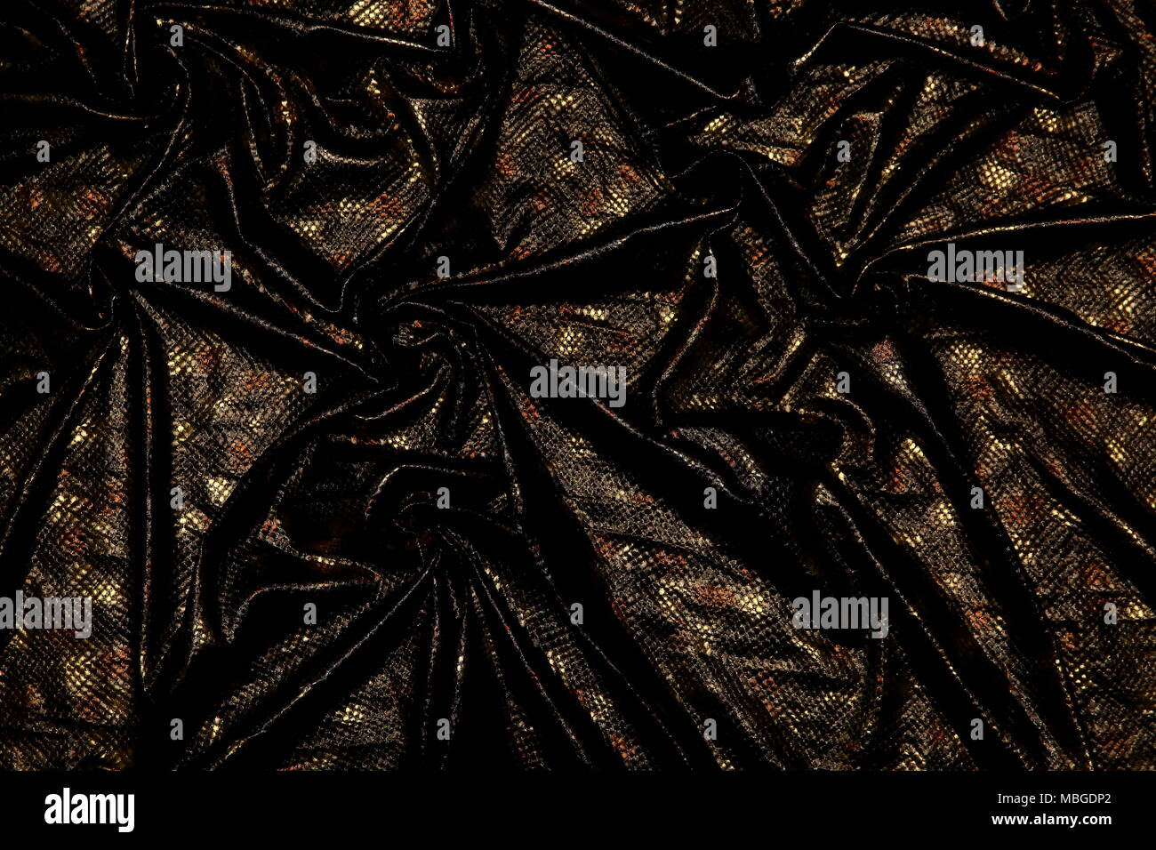 Organtyna is a shiny material which is a material suitable for outfits that are supposed to emphasize status and success. - Stock Image