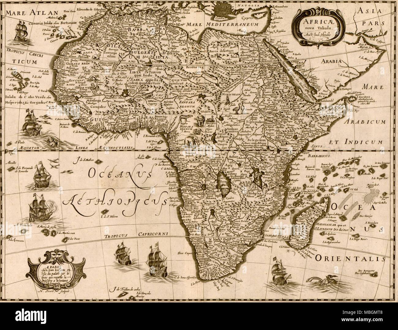 Africa - 1640 - Stock Image