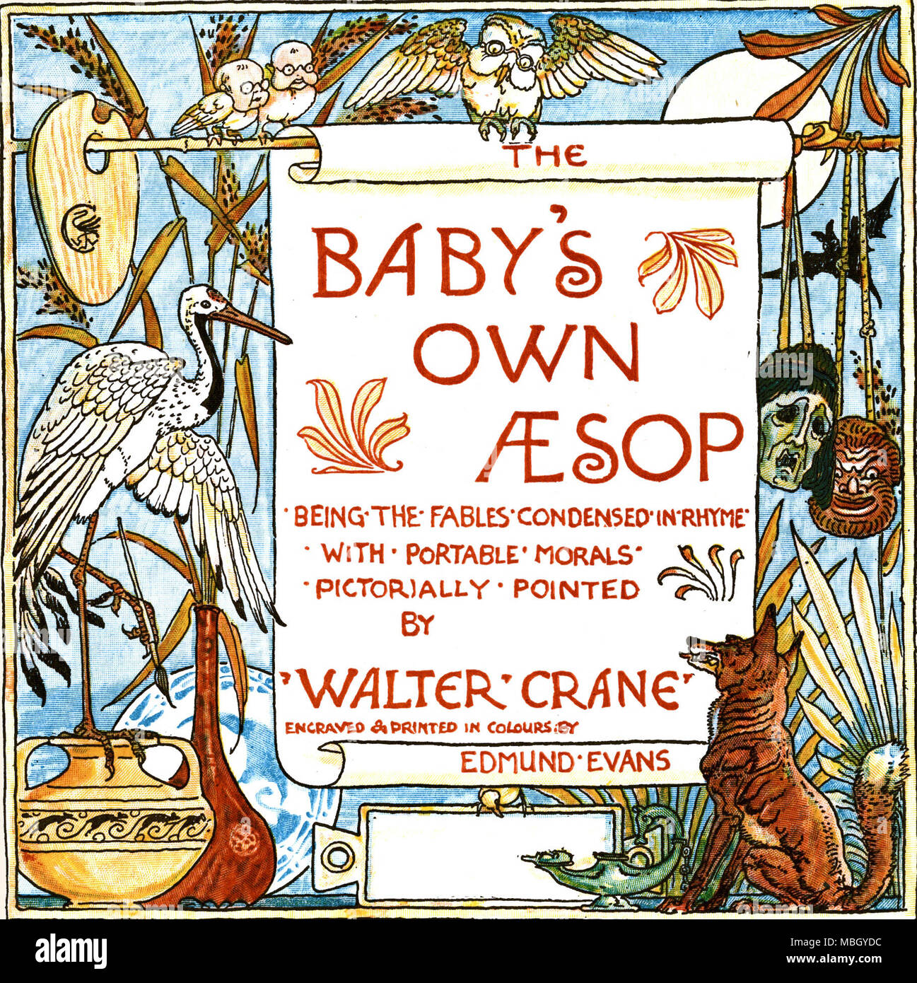 The baby's Own Aesop - Stock Image