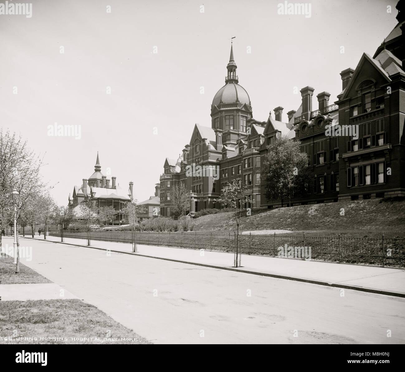 Johns Hopkins Stock Photo