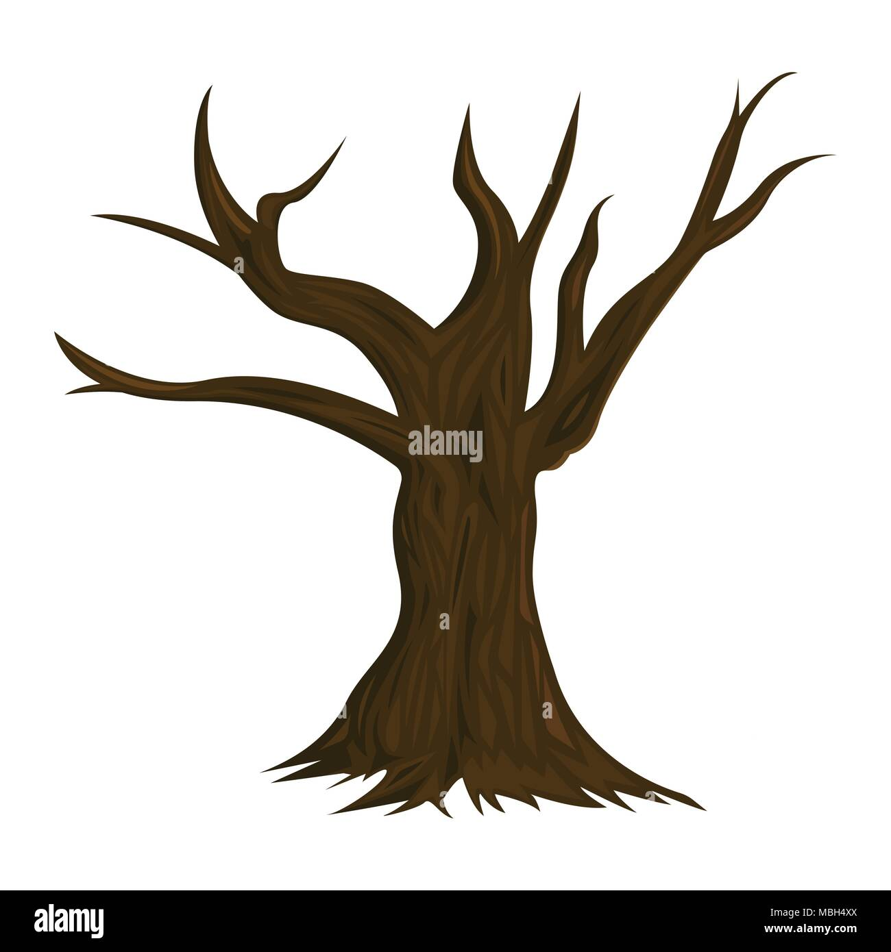 Illustration Of Dead Tree Isolated On White Background Stock Vector Image Art Alamy Tree drawing death, dead tree cartoon, angle, white, text png. https www alamy com illustration of dead tree isolated on white background image179241970 html