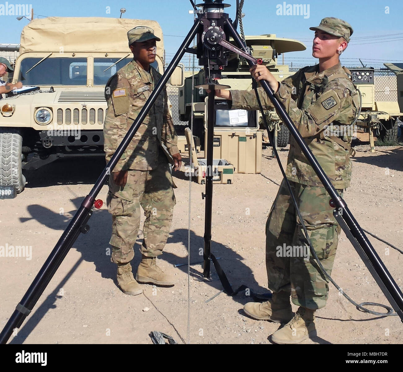 shortly after returning from iraq to fort hood the armys 57th expeditionary signal battalion supported the operational test of a line of sight radio