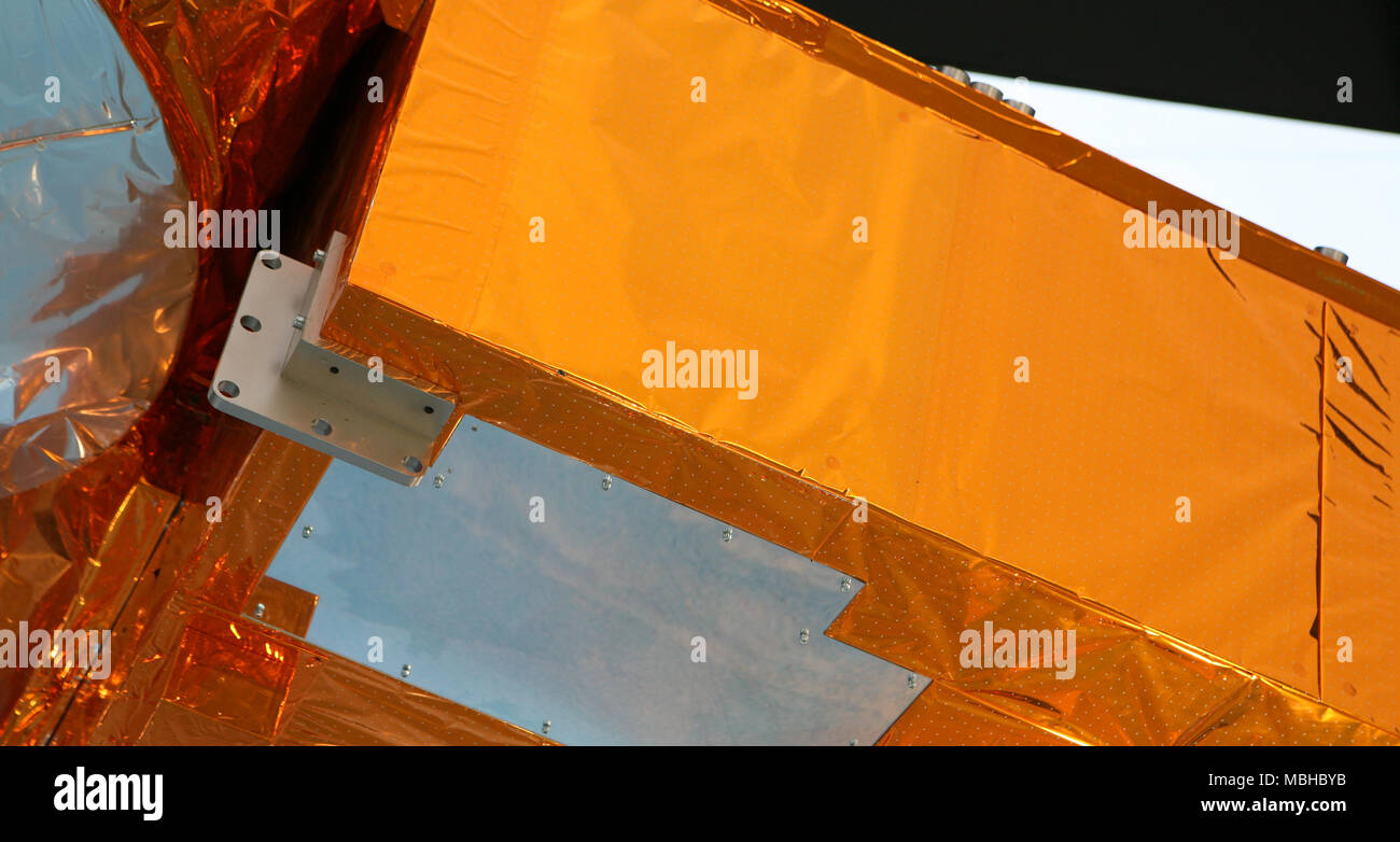 Artificial satellite detail - Stock Image