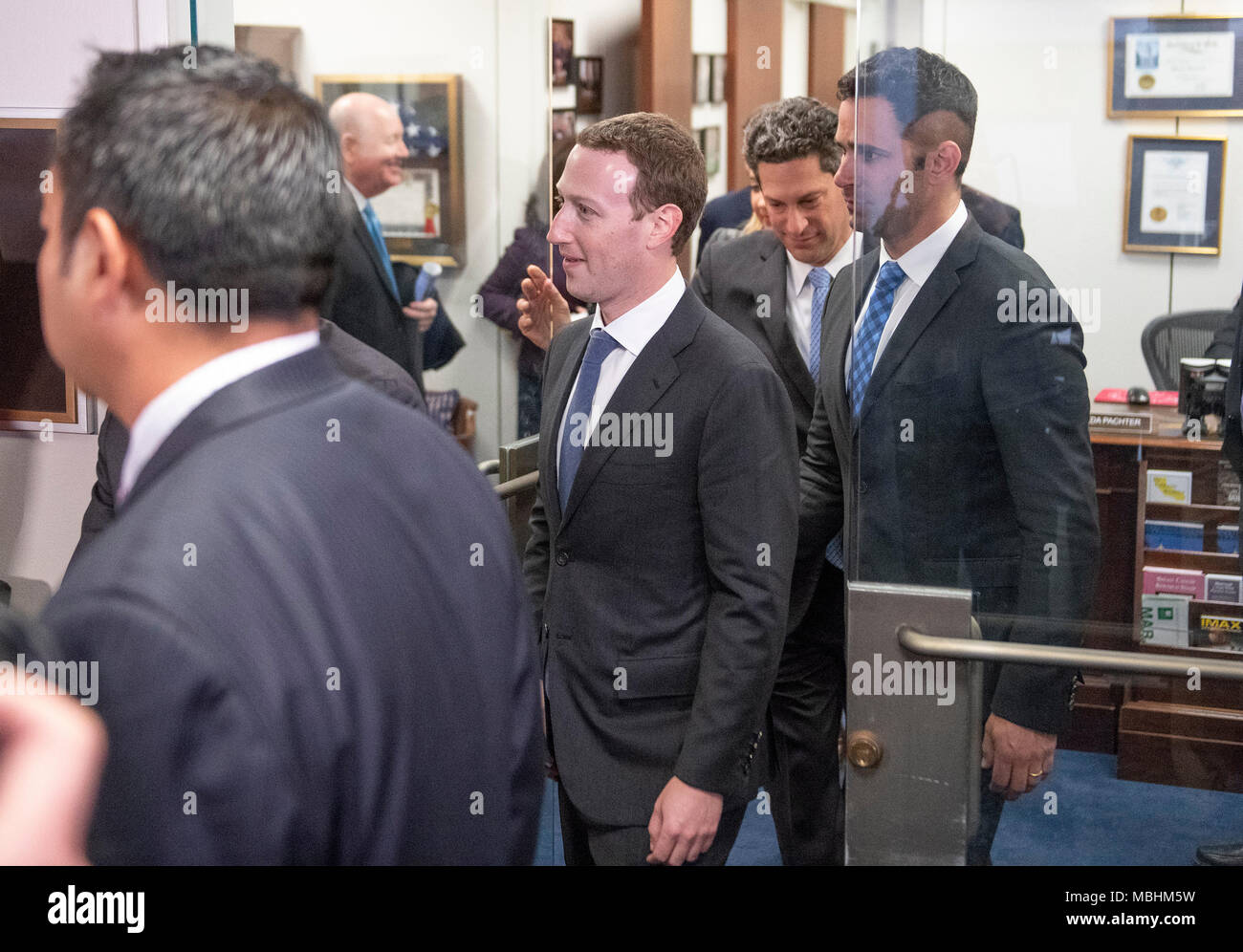 facebook office usa. Washington, USA. 09th Apr, 2018. Surrounded By Staff And Security, Mark Facebook Office Usa