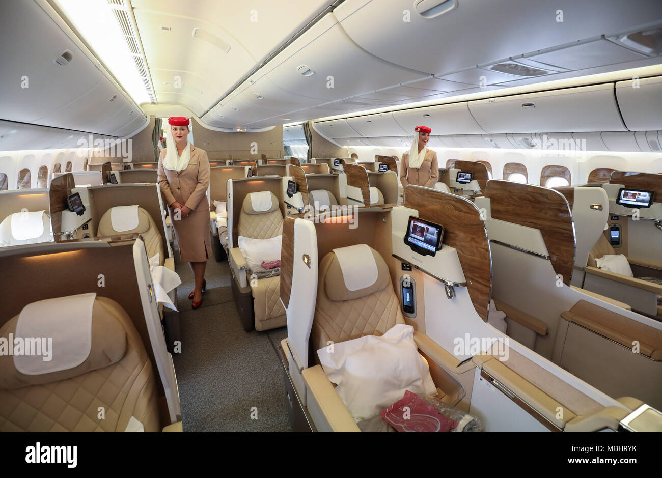 Boeing 777 Interior Stock Photos Boeing 777 Interior Stock Images