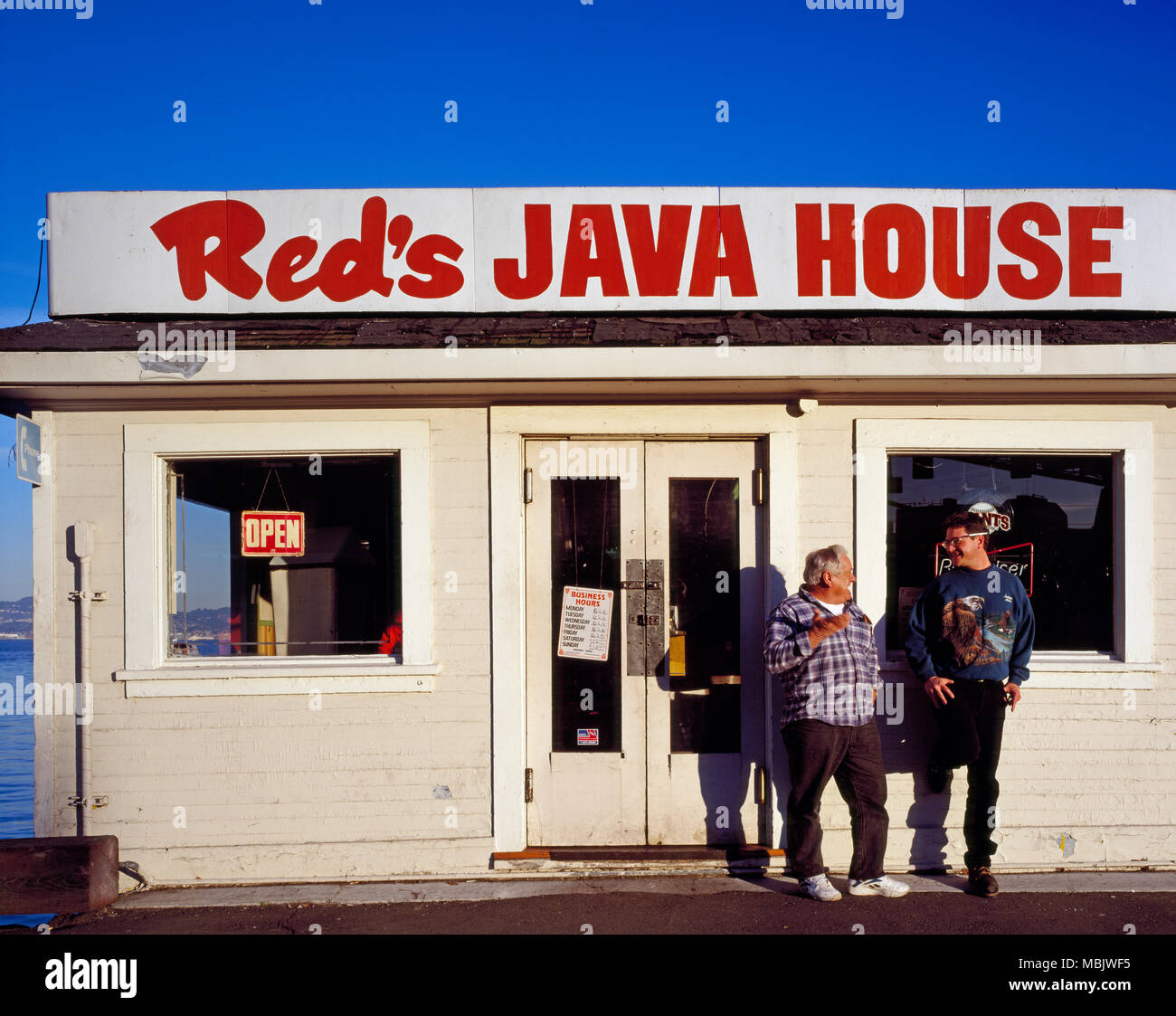 Red's Java House - Stock Image