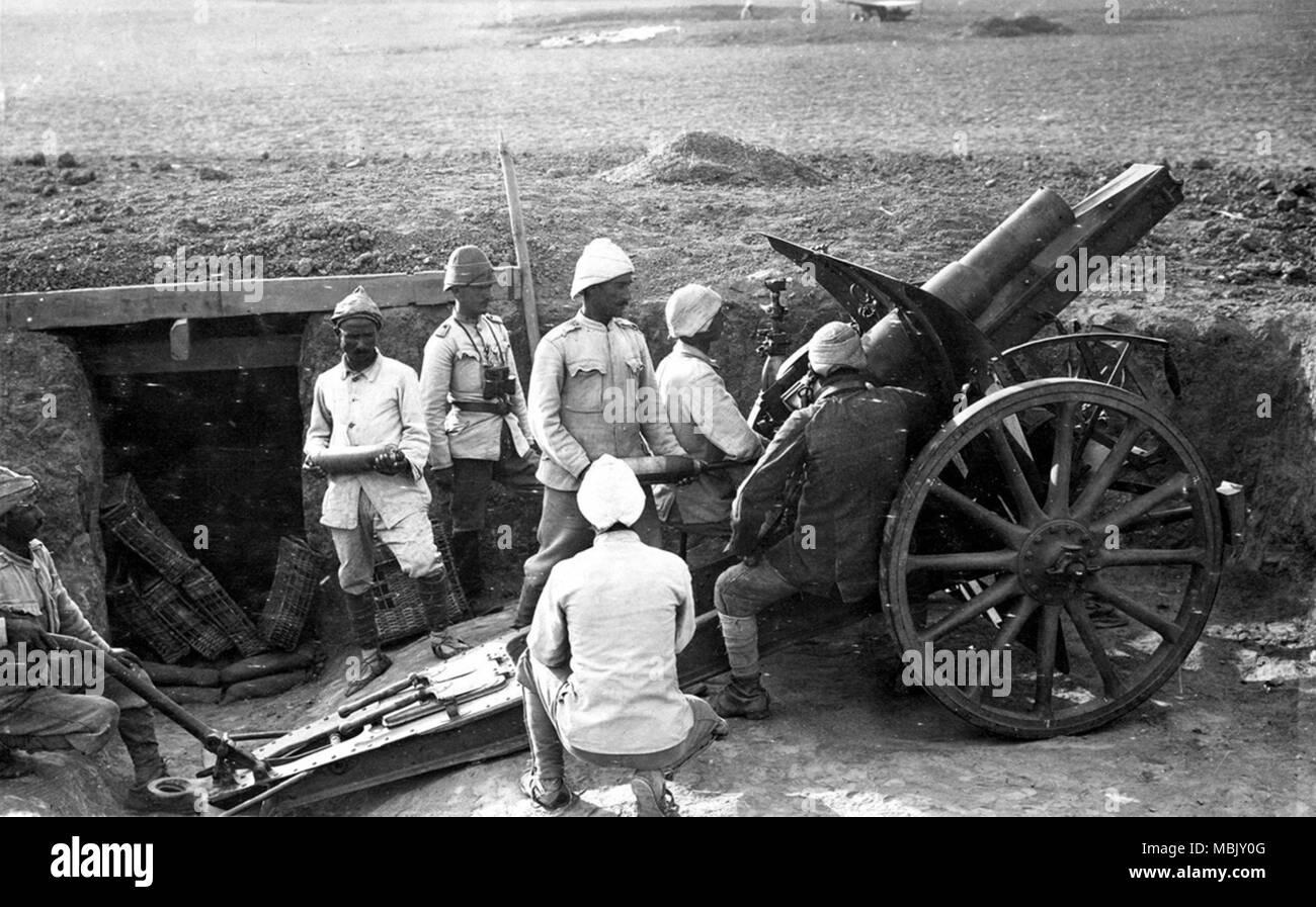 Ottoman Artillery - Stock Image