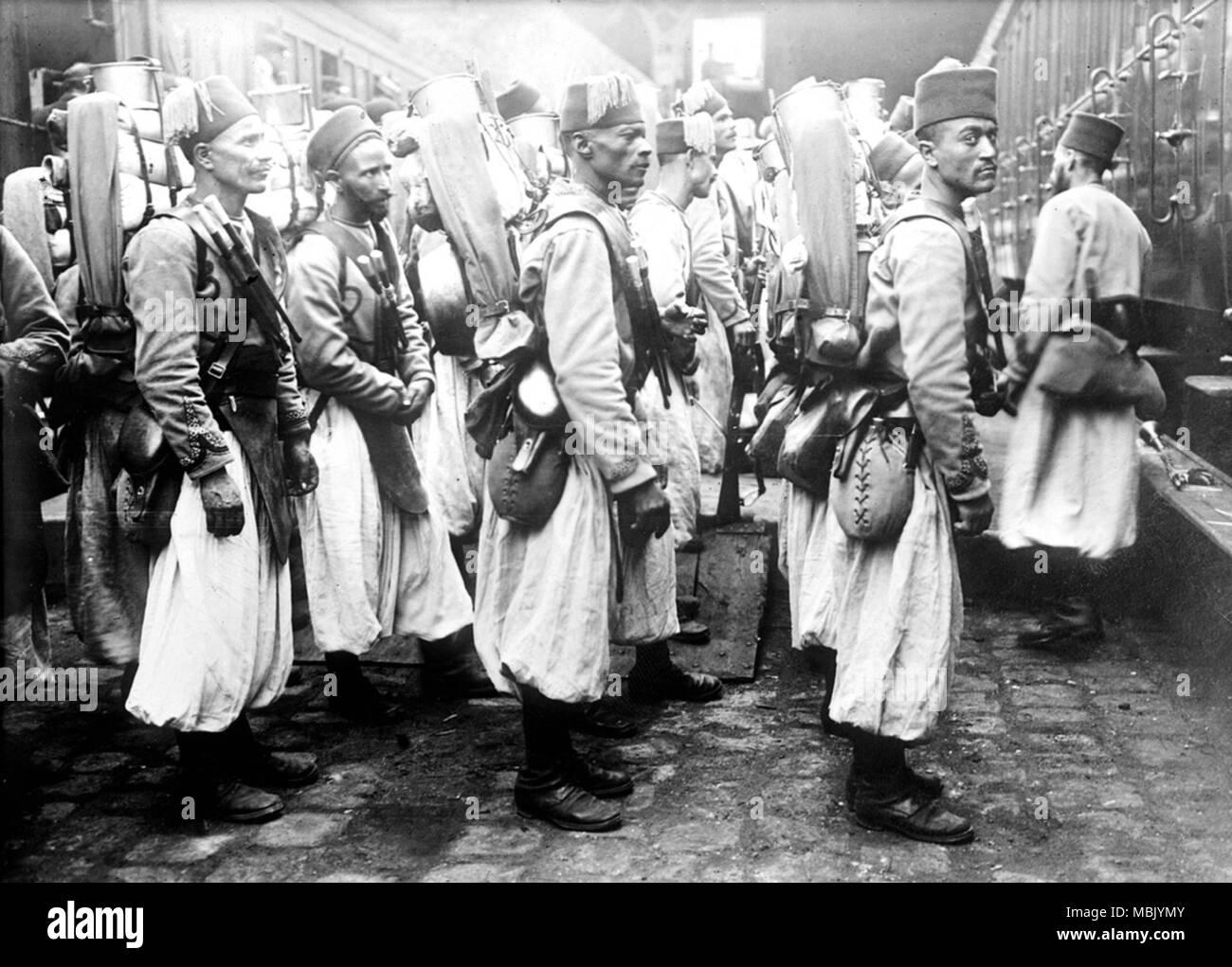 Fezzed Up Algerians - Stock Image