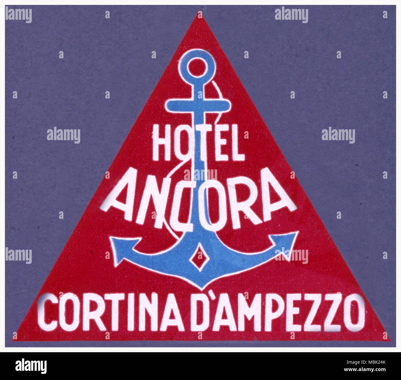 Hotel Ancora - Stock Image