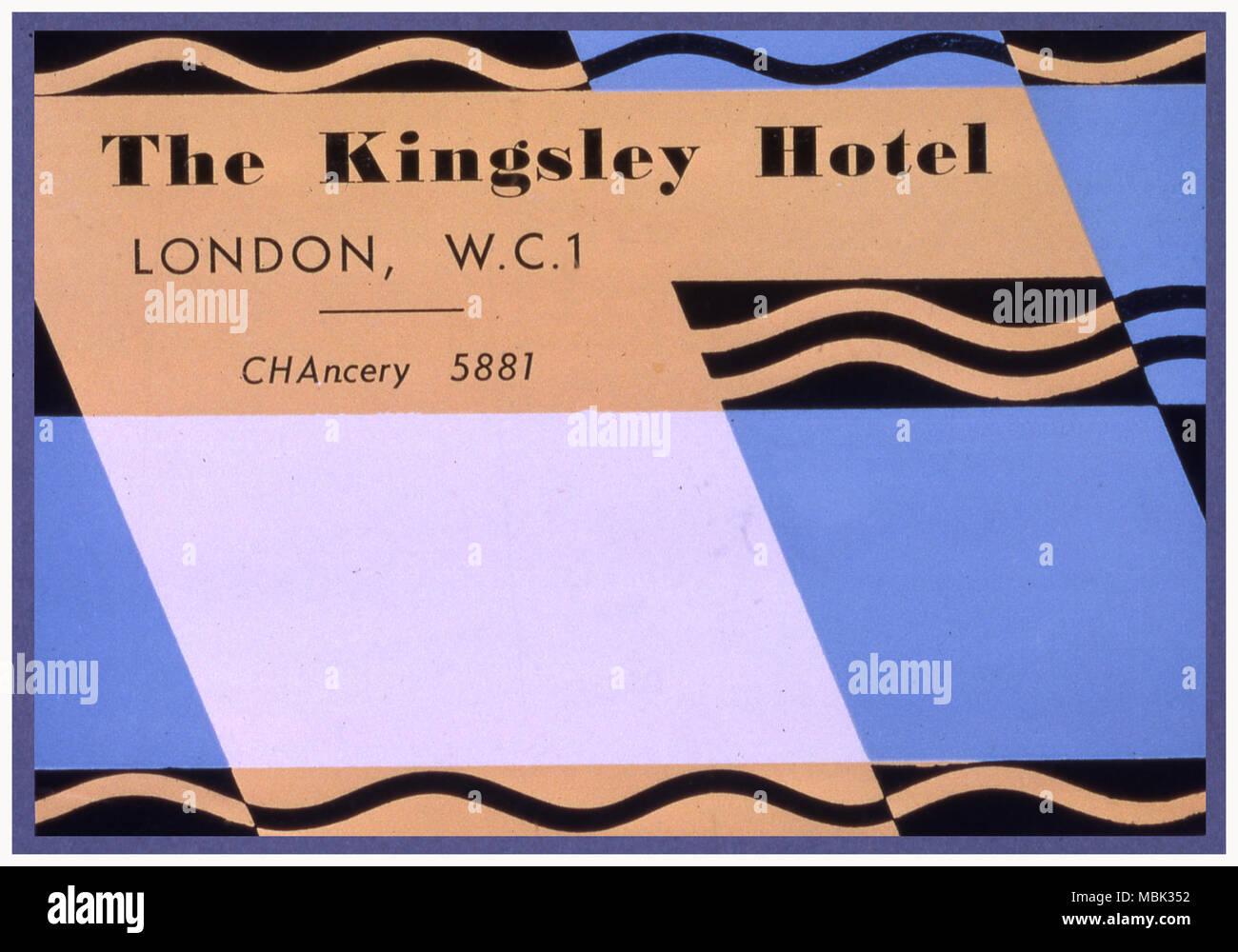 Kingsley Hotel - Stock Image
