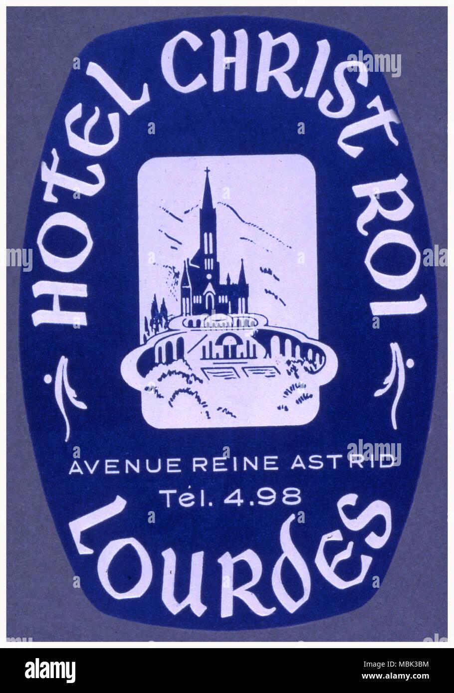 Hotel Christ Roi - Stock Image