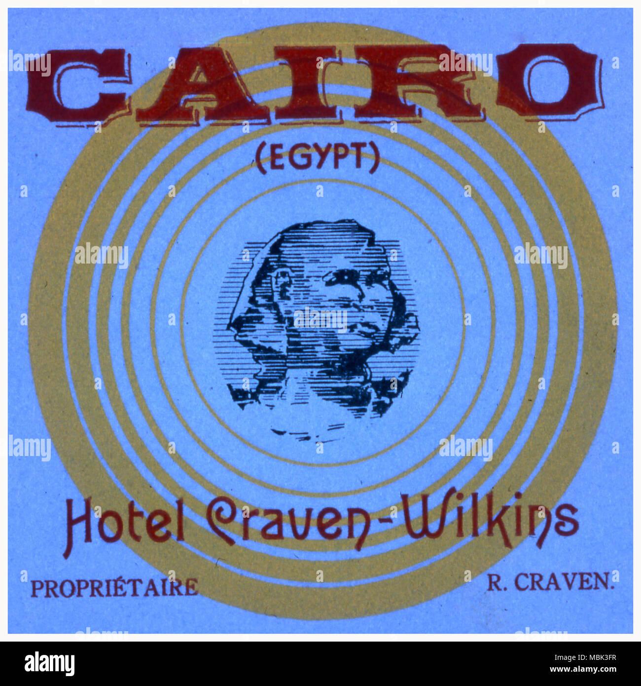 Hotel Craven-Wilkins - Stock Image