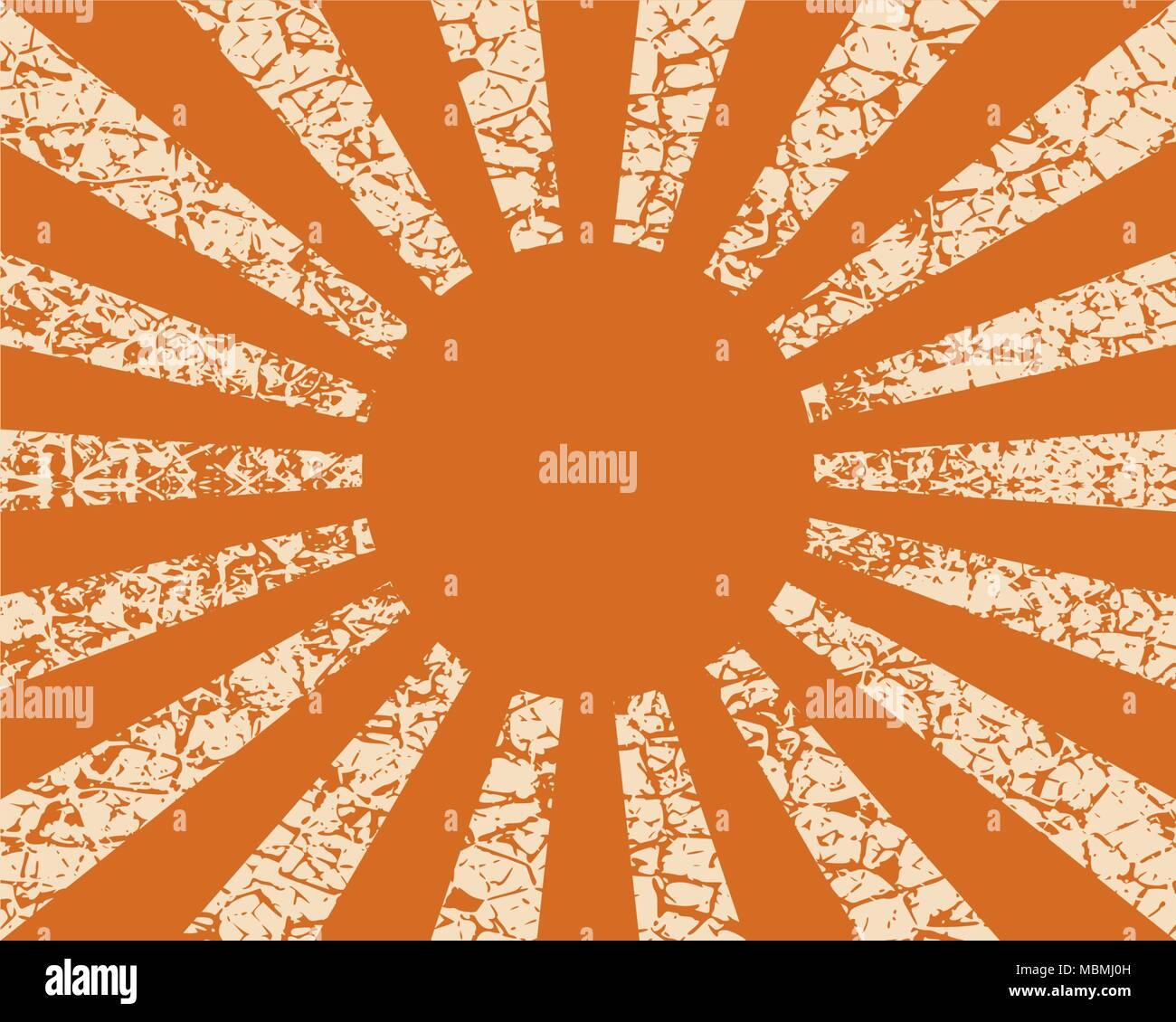Radiating rays background. - Stock Image