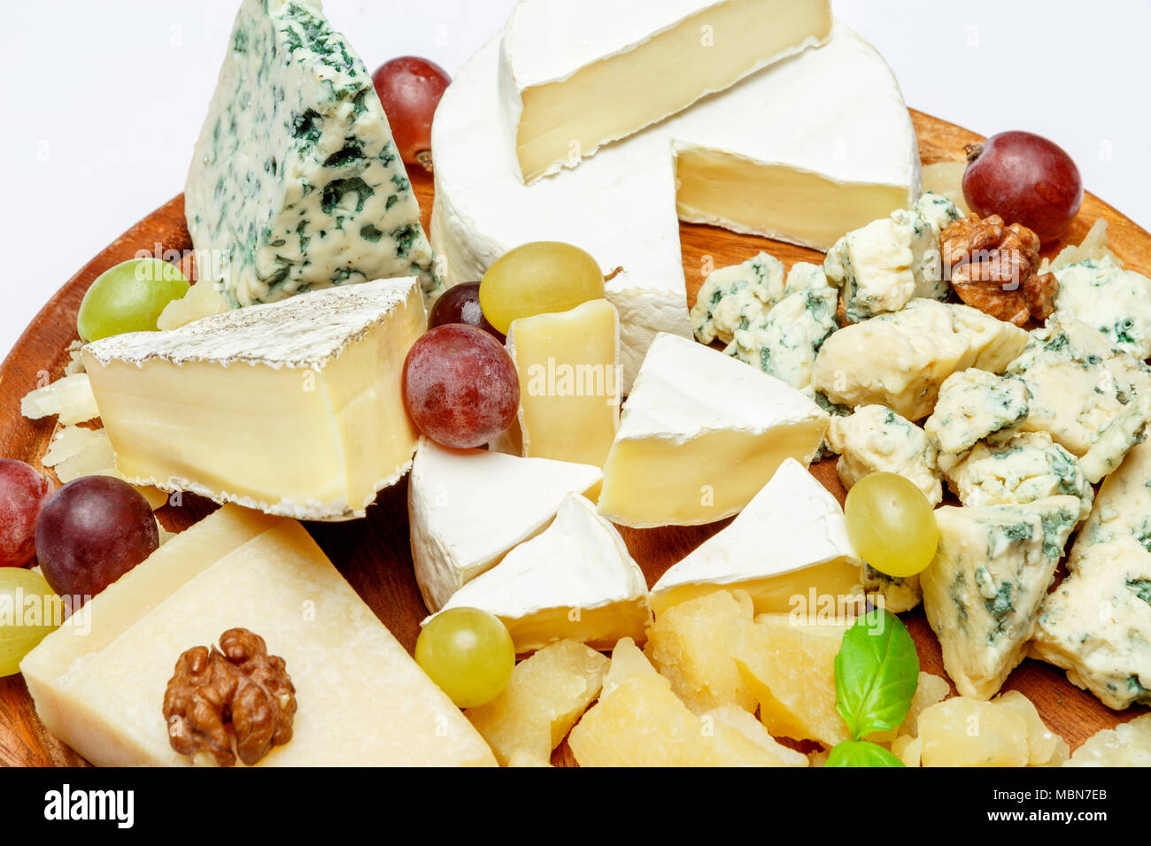Cheese plate with Assorted cheeses Camembert Brie Parmesan blue cheese goat & Cheese plate with Assorted cheeses Camembert Brie Parmesan blue ...