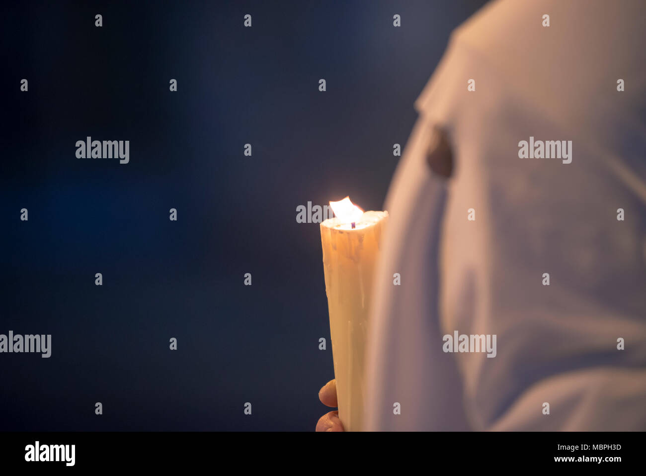 Holy Week in Spain, passion in its purest form Stock Photo