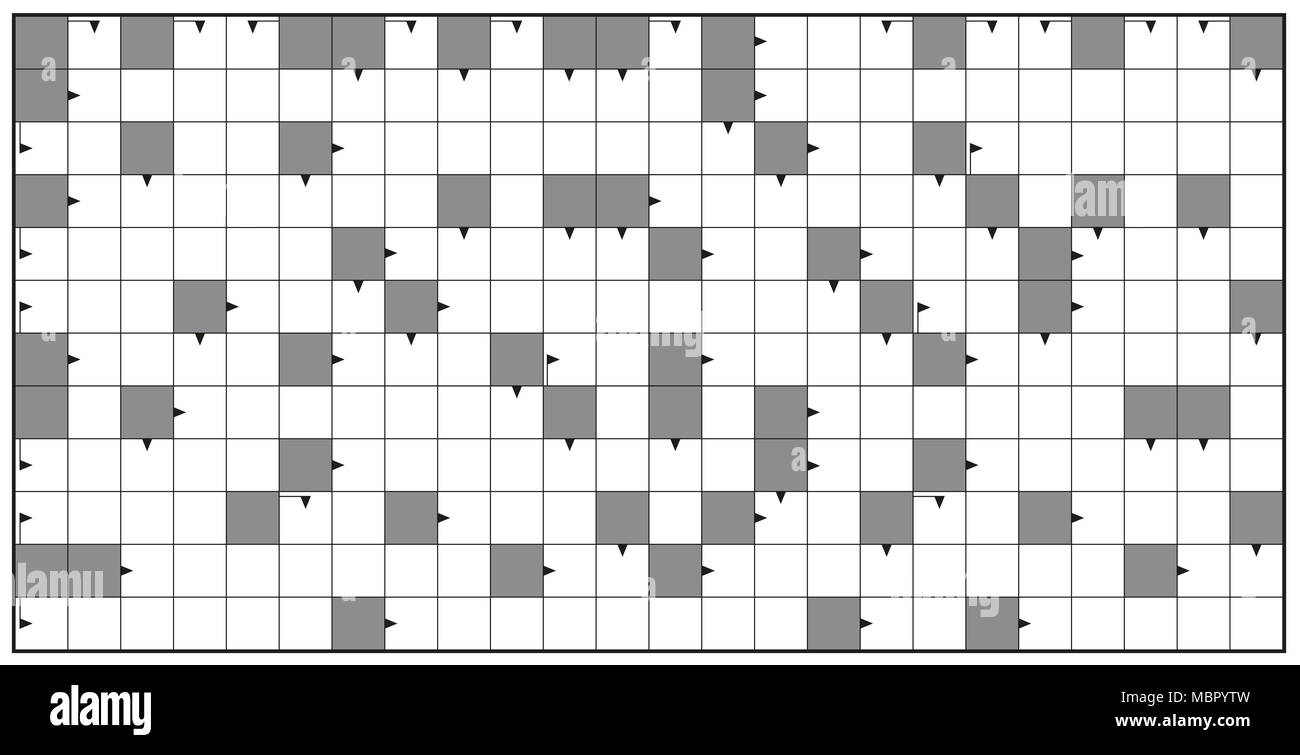 Crossword Puzzle Blank Stock Photos & Crossword Puzzle Blank Stock ...