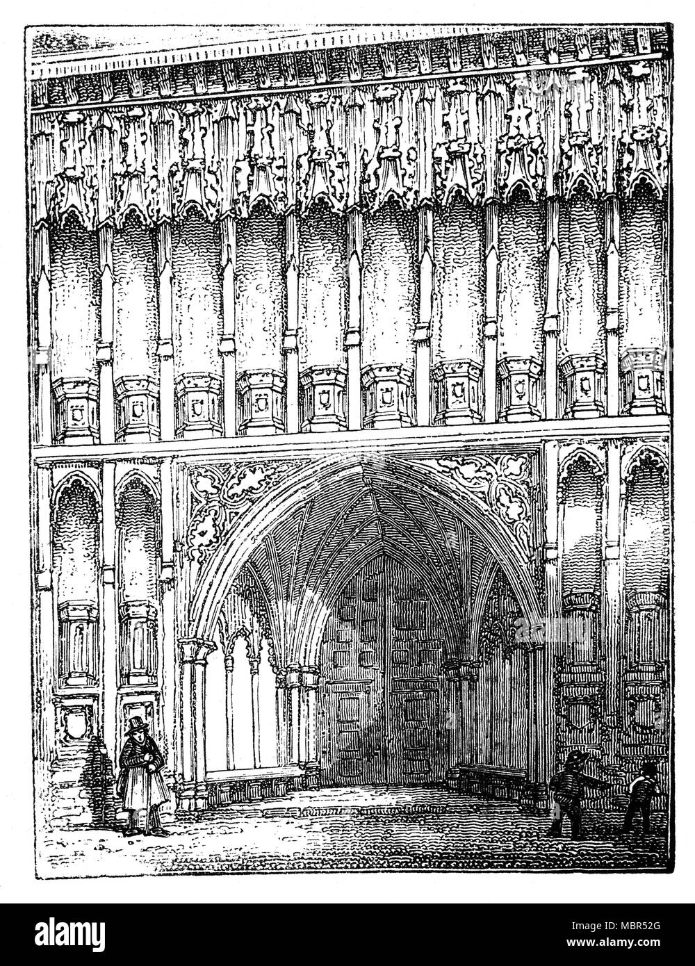 The Western Entrance of Westminster Abbey, formally titled
