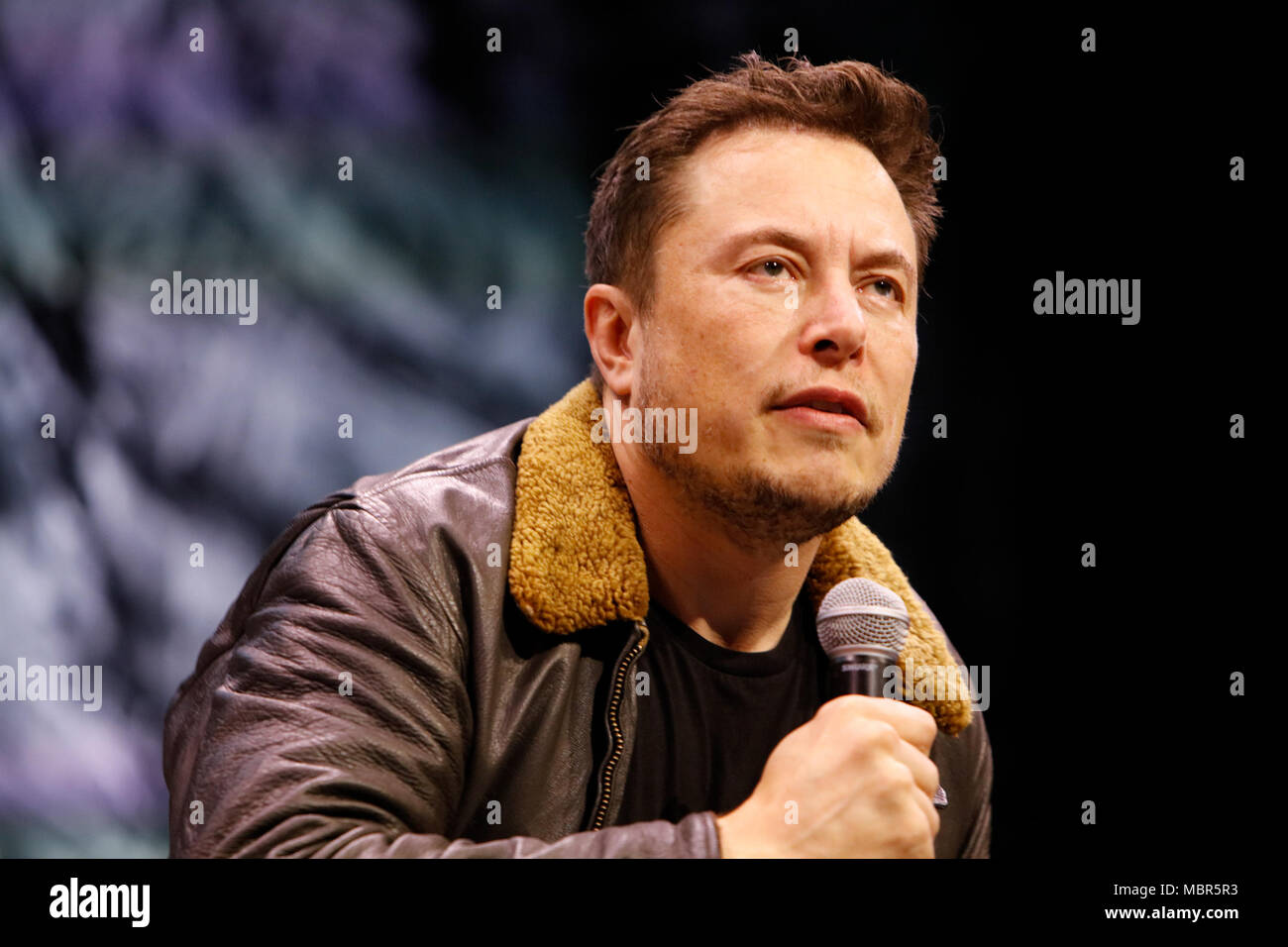 Elon Musk speaks during 'Elon Musk Answers Your Questions