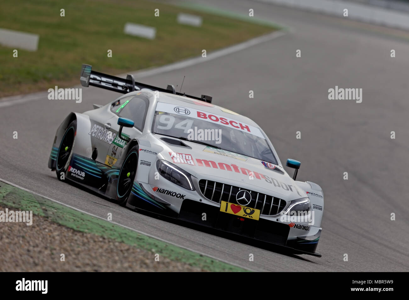 pascal wehrlein ger mercedes dtm 2018 tests. Black Bedroom Furniture Sets. Home Design Ideas