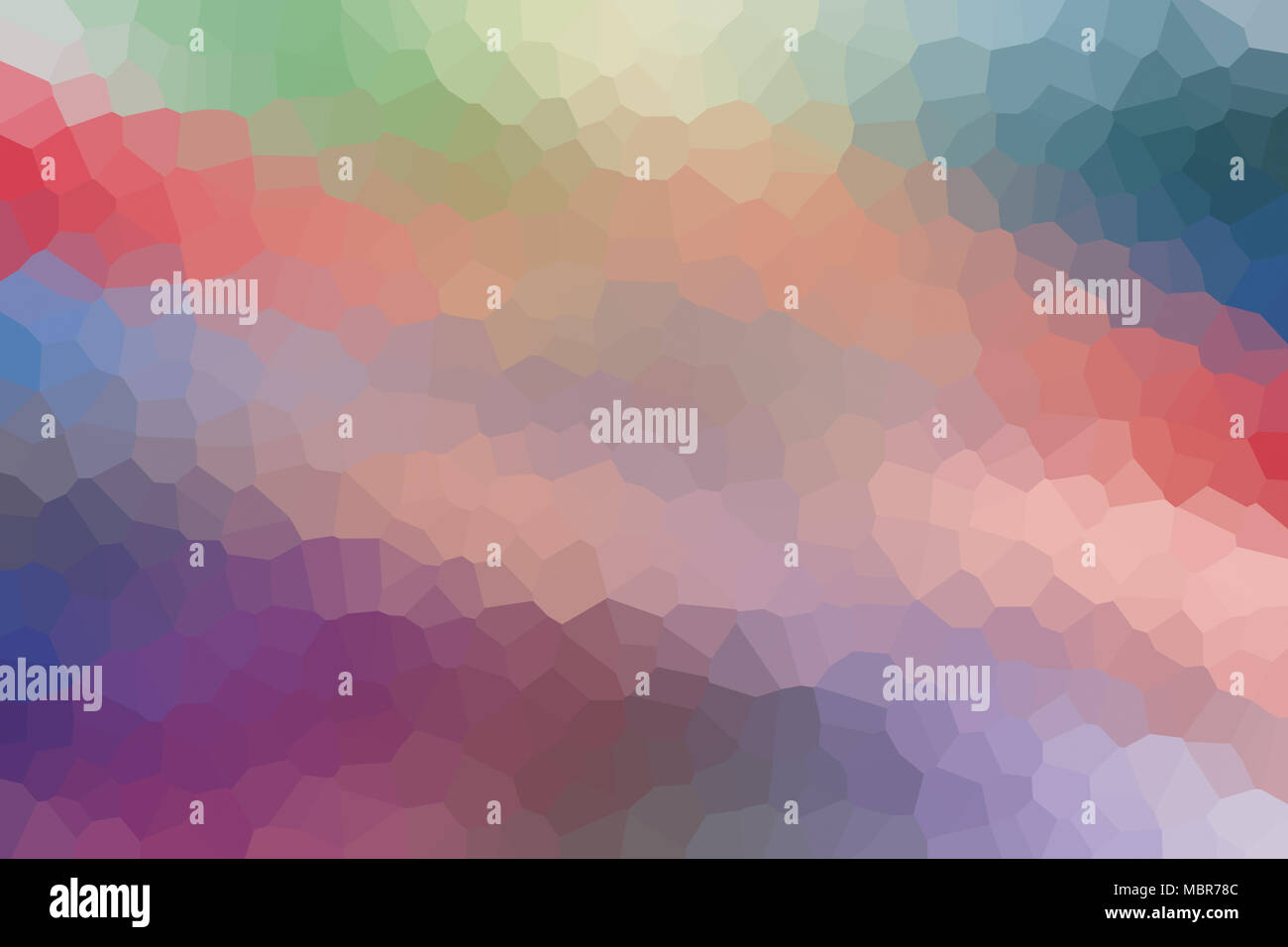 Multicolored Abstract Polygonal Pattern Vague Low Poly Background With Gradient