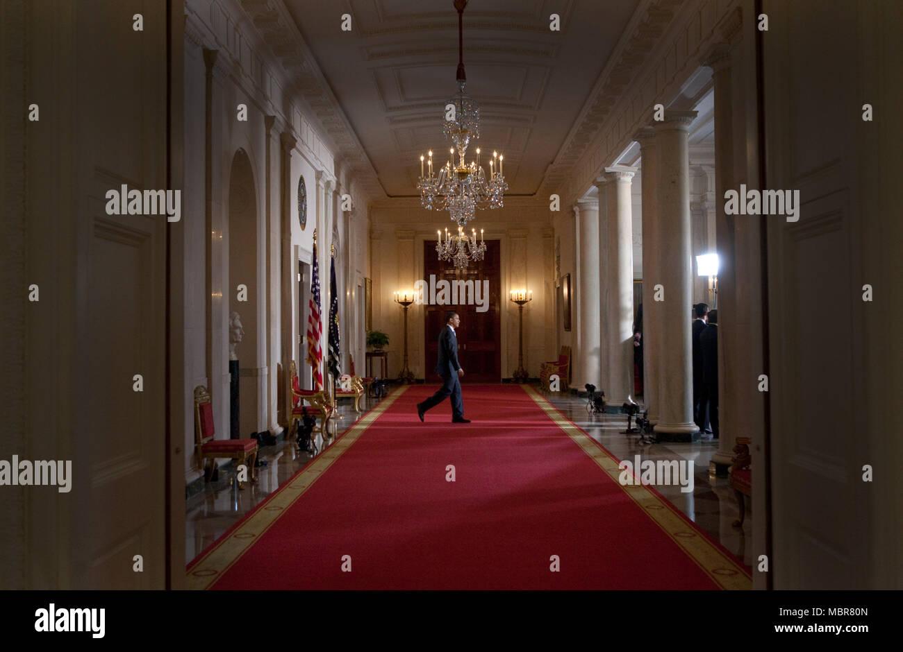 Grand Foyer White House : Grand foyer white house stock photos