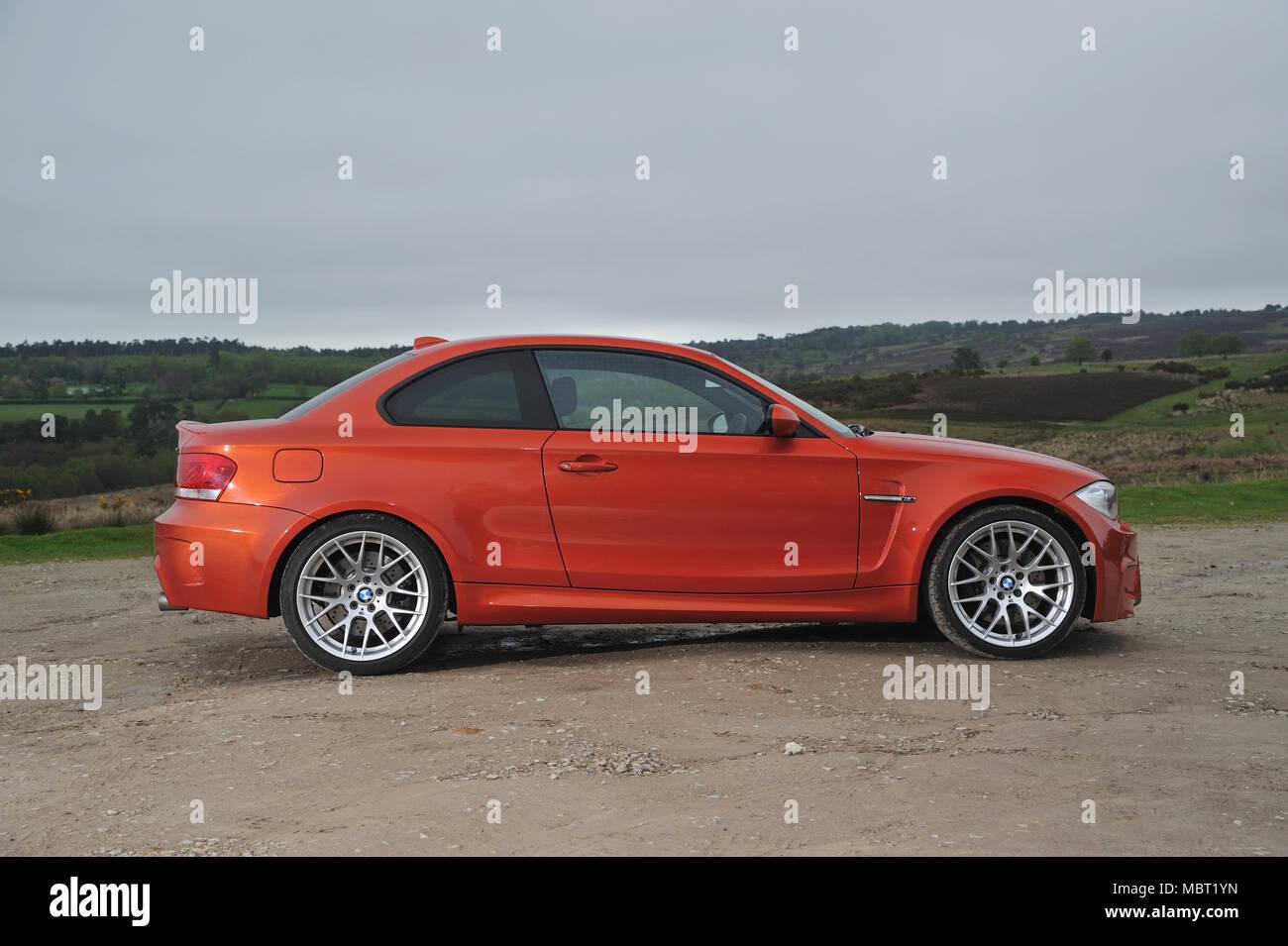 E87 Bmw 1m 1 Series M Sport Coupe Stock Photo Alamy