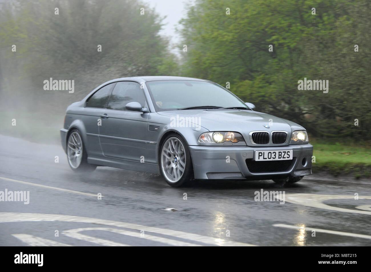 2003 Bmw M3 Csl E92 Shape German Sports Coupe Stock Photo 179393345