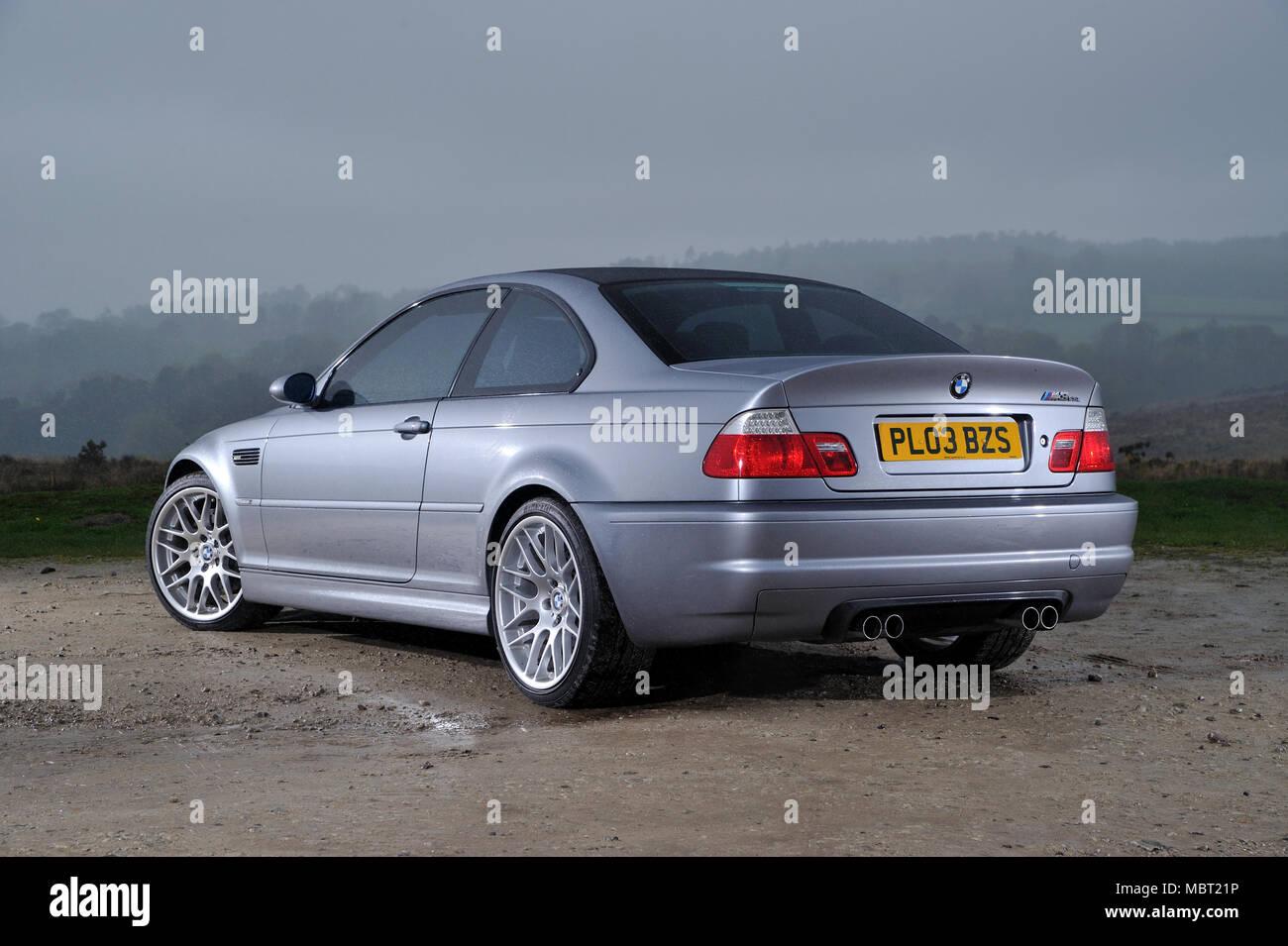 2003 Bmw M3 Csl E92 Shape German Sports Coupe Stock Photo 179393362