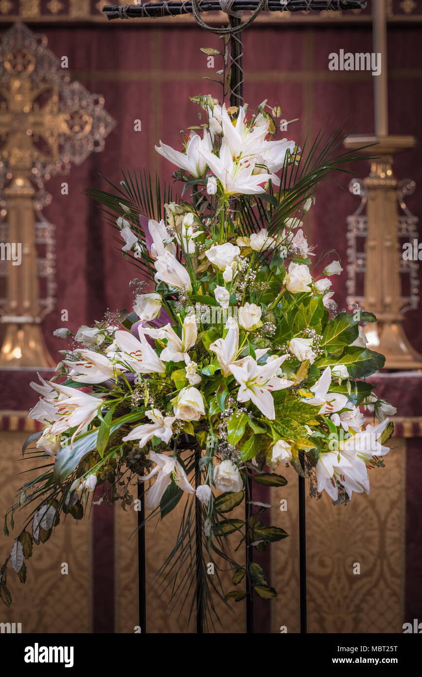 Altar Flower High Resolution Stock Photography And Images Alamy