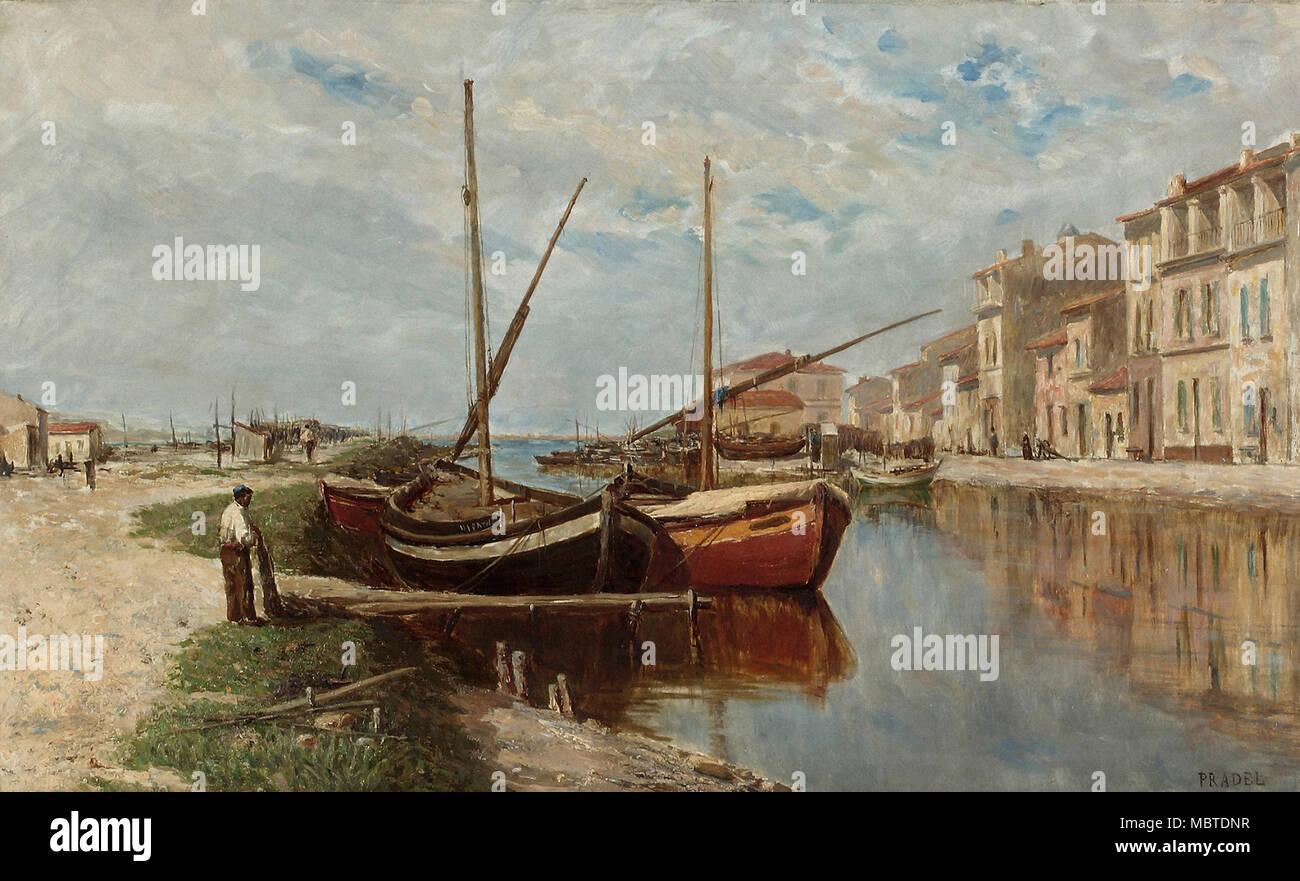Pradel Jean - Port De Peche Mediterraneen - Stock Image