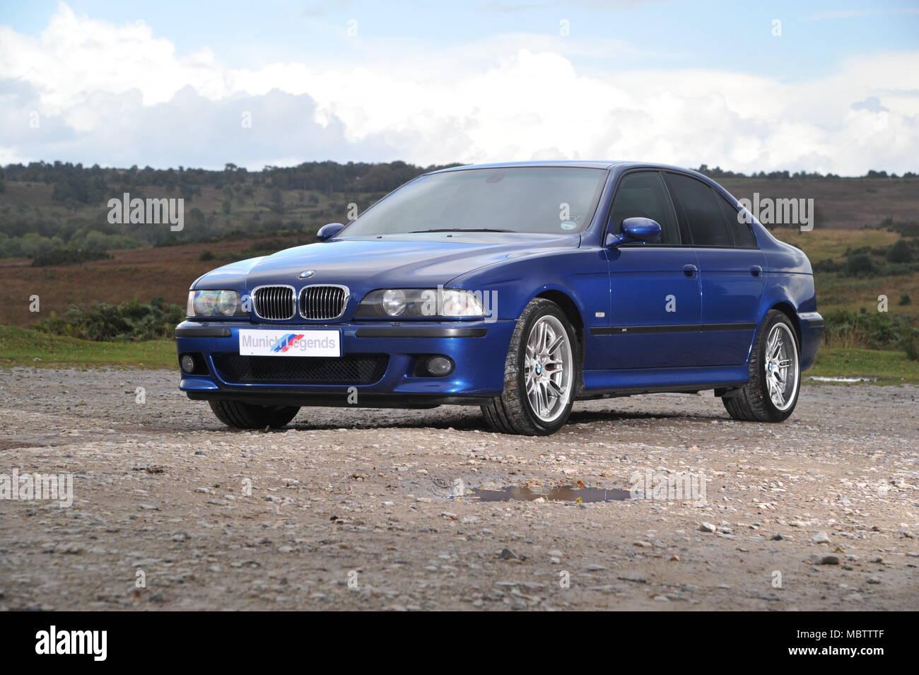 BMW M5 E39 (1996 2003) Shape German Super Saloon Car   Stock Image