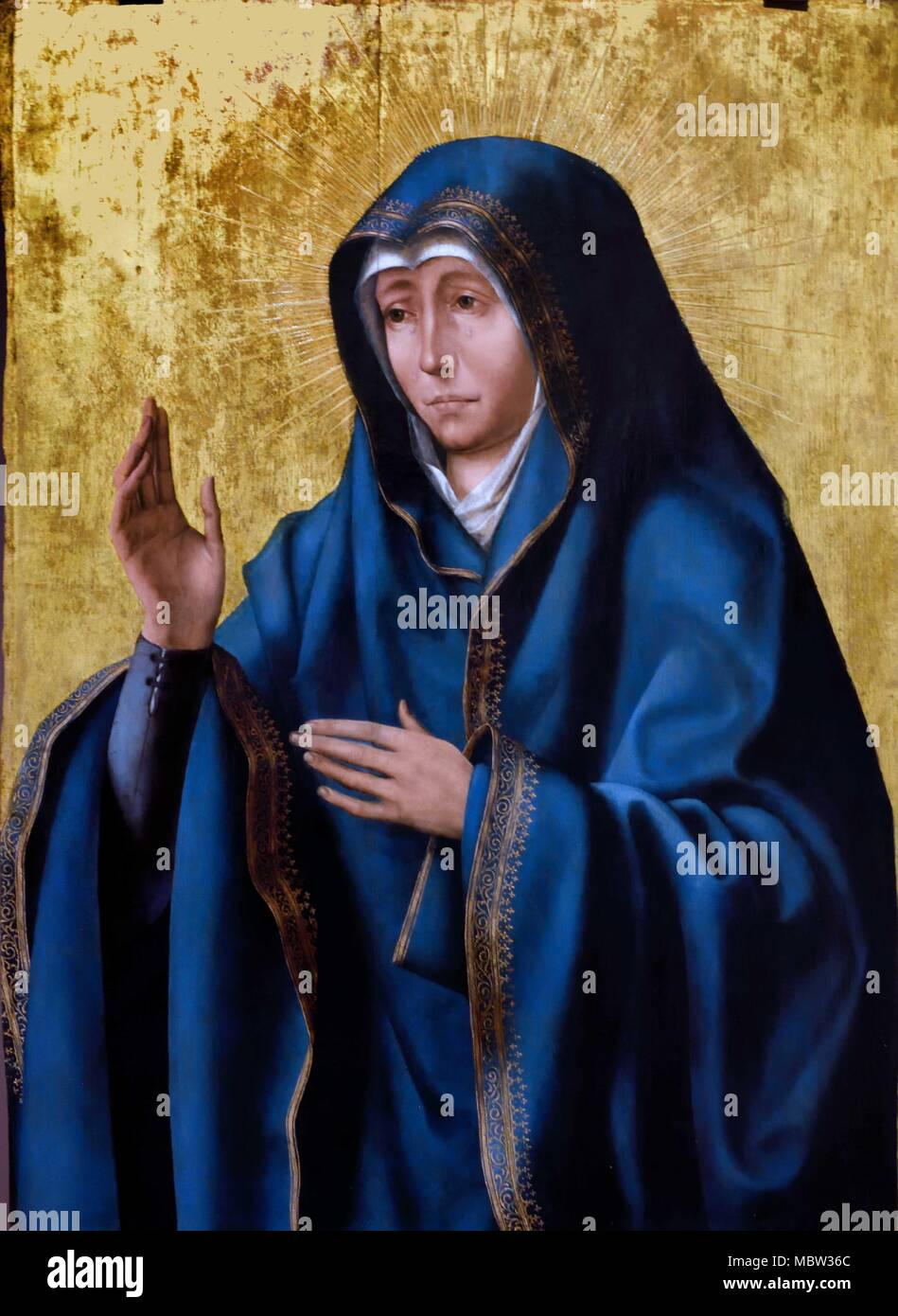Madre dei dolori - Mother of pains 1520 METSYS Quentin 1466-1530 Belgian Flemish Belgium 15th-16th Century - Stock Image