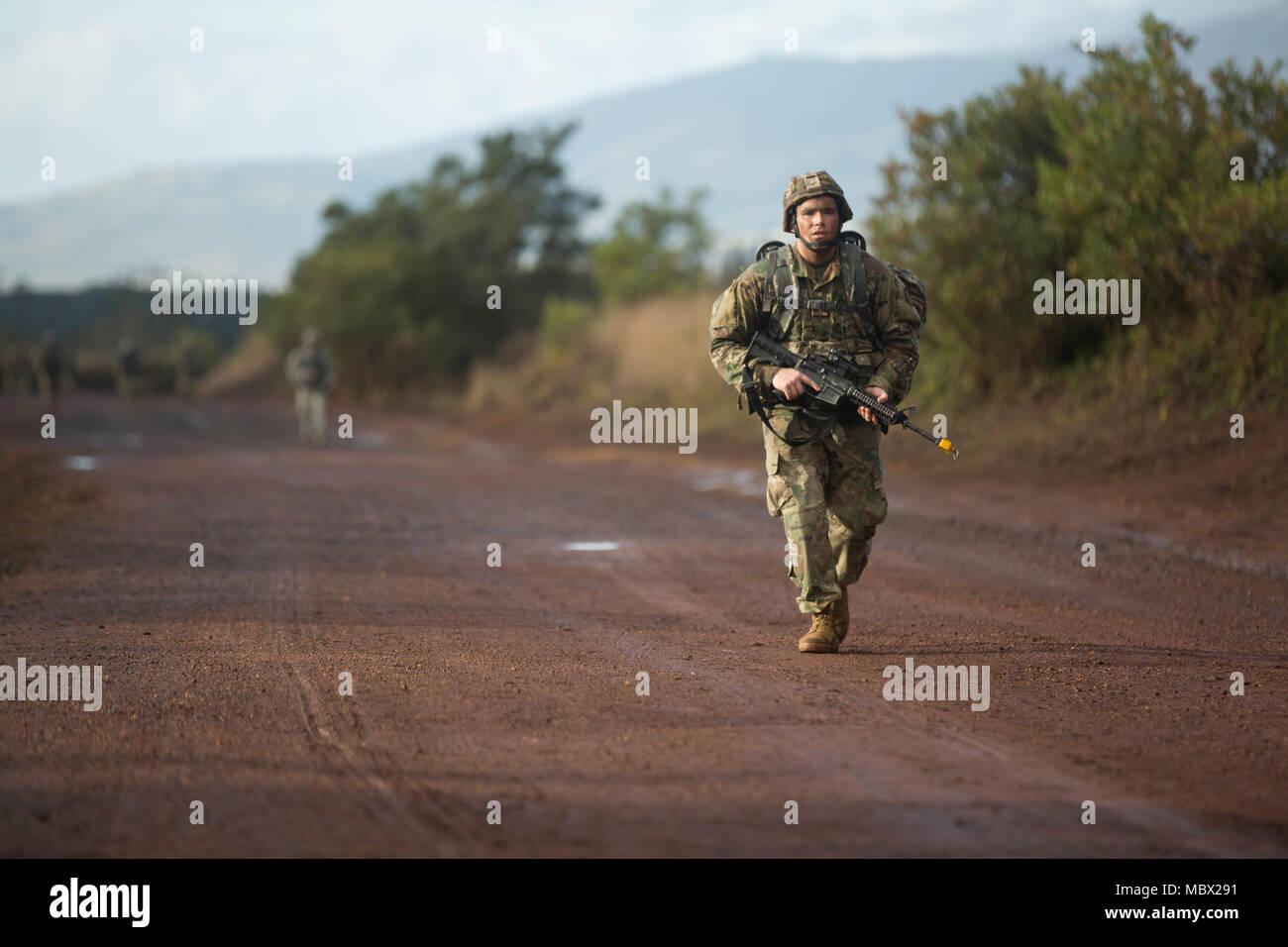 Spc Parker Hull Forward Observer 1st Battalion 151st Infantry