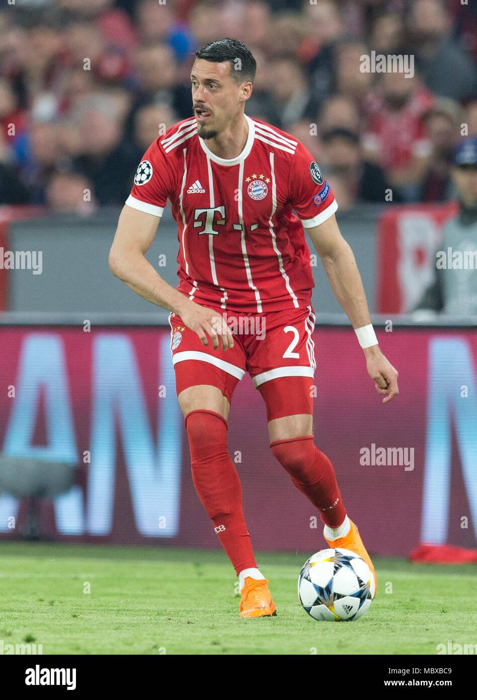 Muenchen Deutschland 11th Apr 2018 Sandro Wagner Fc Bayern