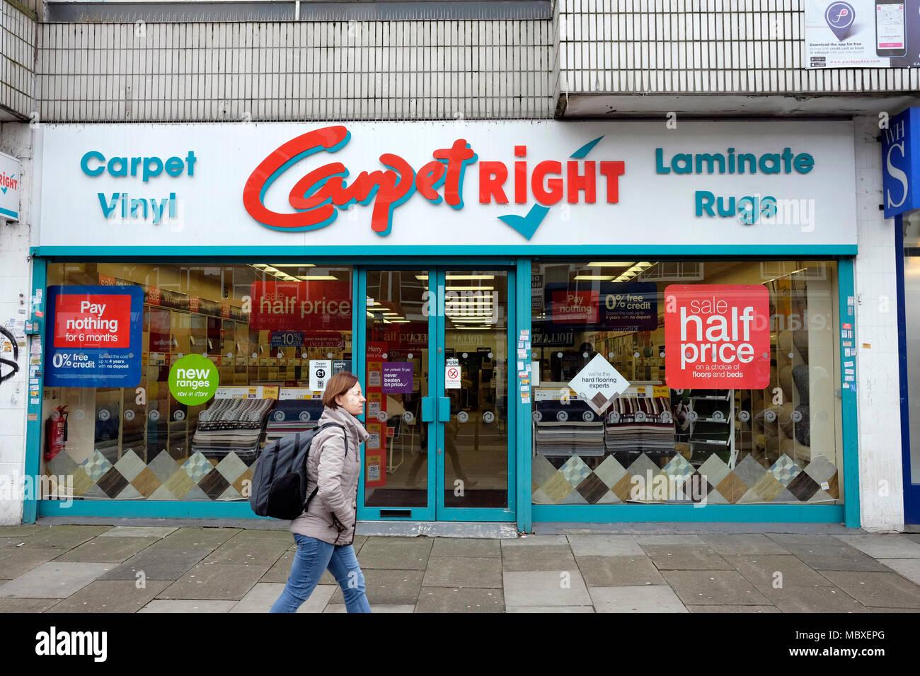 Carpetright Store Stock Photos Amp Carpetright Store Stock