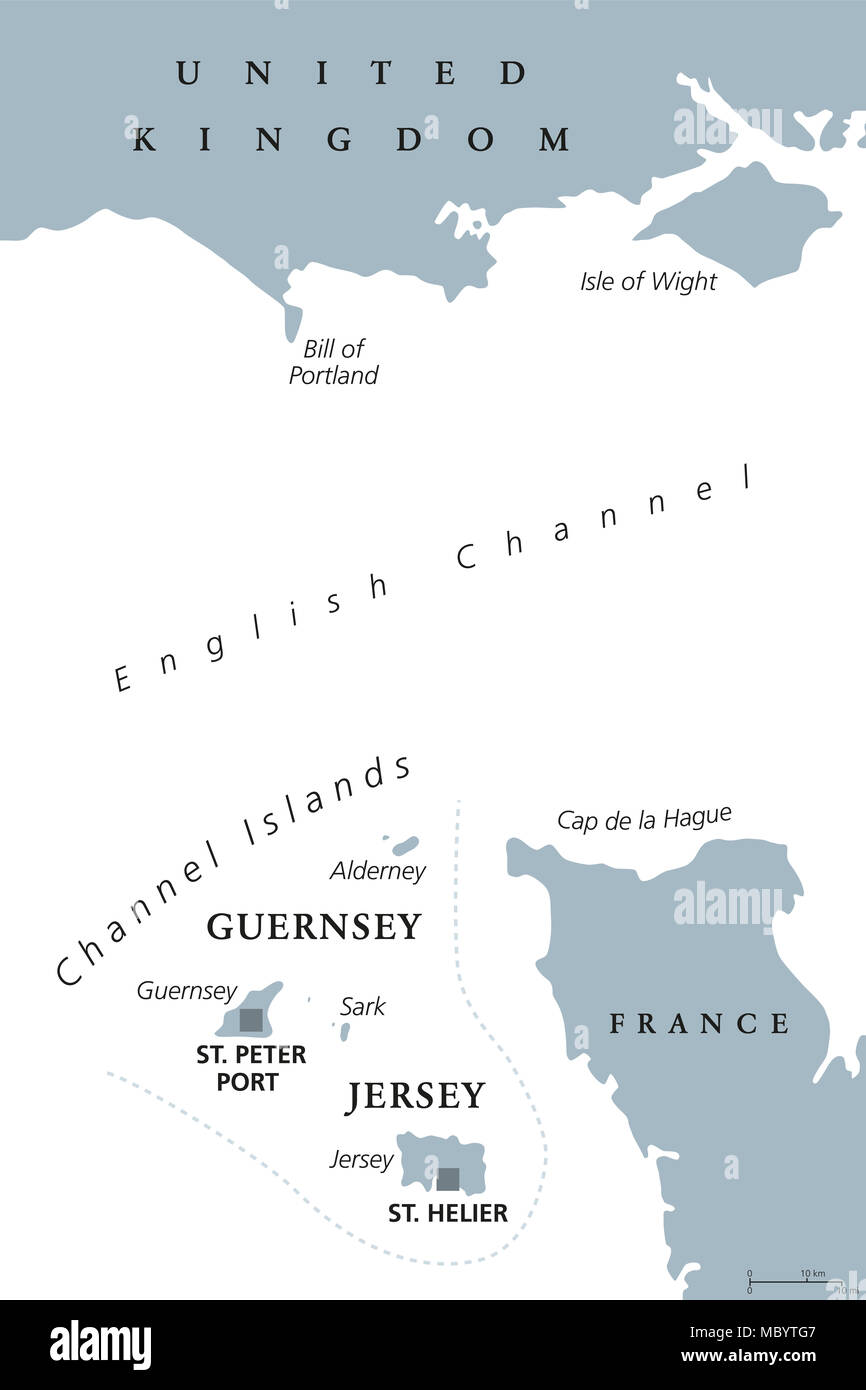 English Channel Map Stock Photos English Channel Map Stock Images