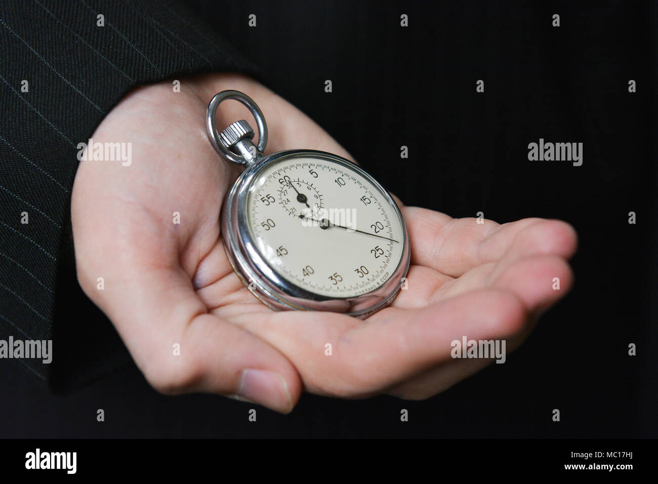 Time is money, value your time - Stock Image