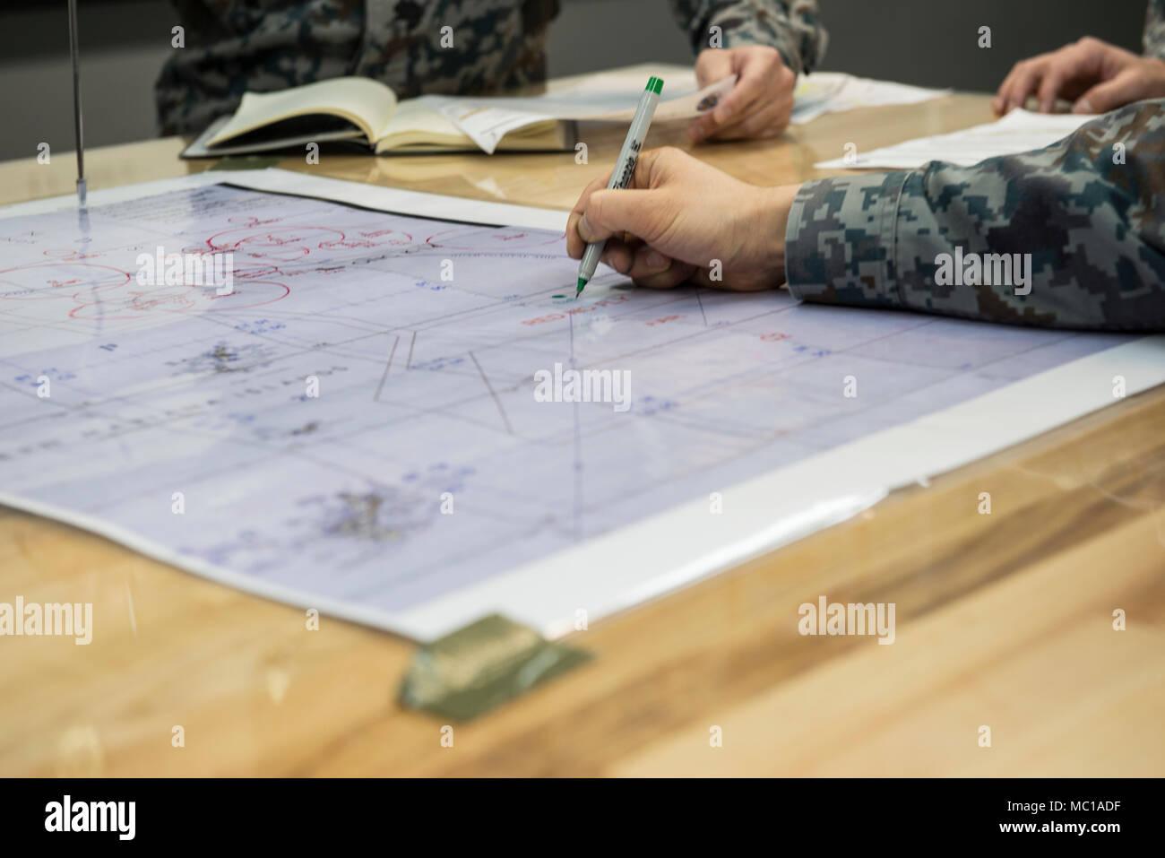Us Air Force Bases In Japan Map.Japan Air Self Defense Force Members Identify Important Information