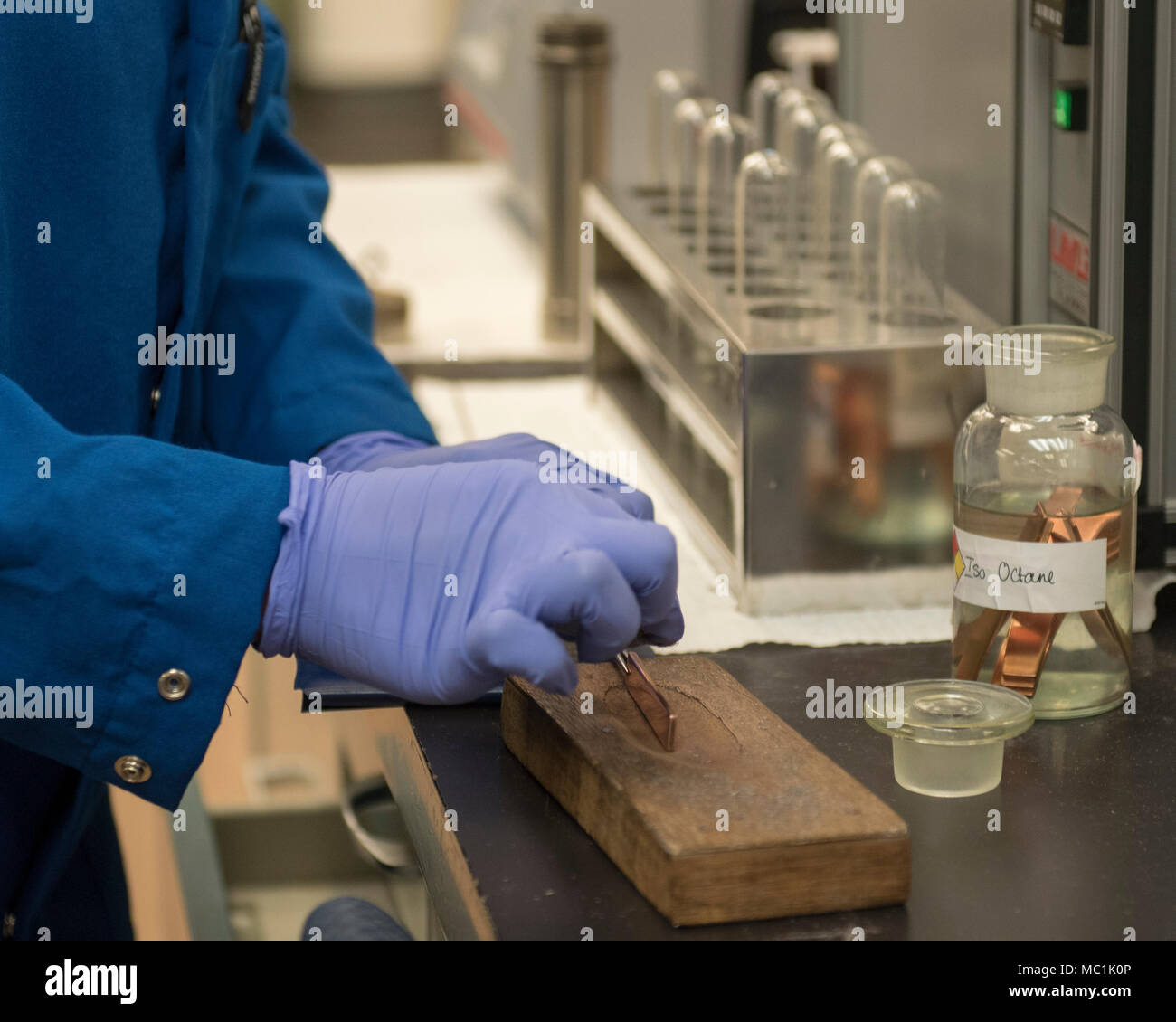 tech office alternative. U.S. Air Force Tech. Sgt. Shanice Spearman, Aerospace Fuels Laboratory NCO In Charge, Prepares A Copper Strip For Corrosion Standards Testing Jan. Tech Office Alternative F