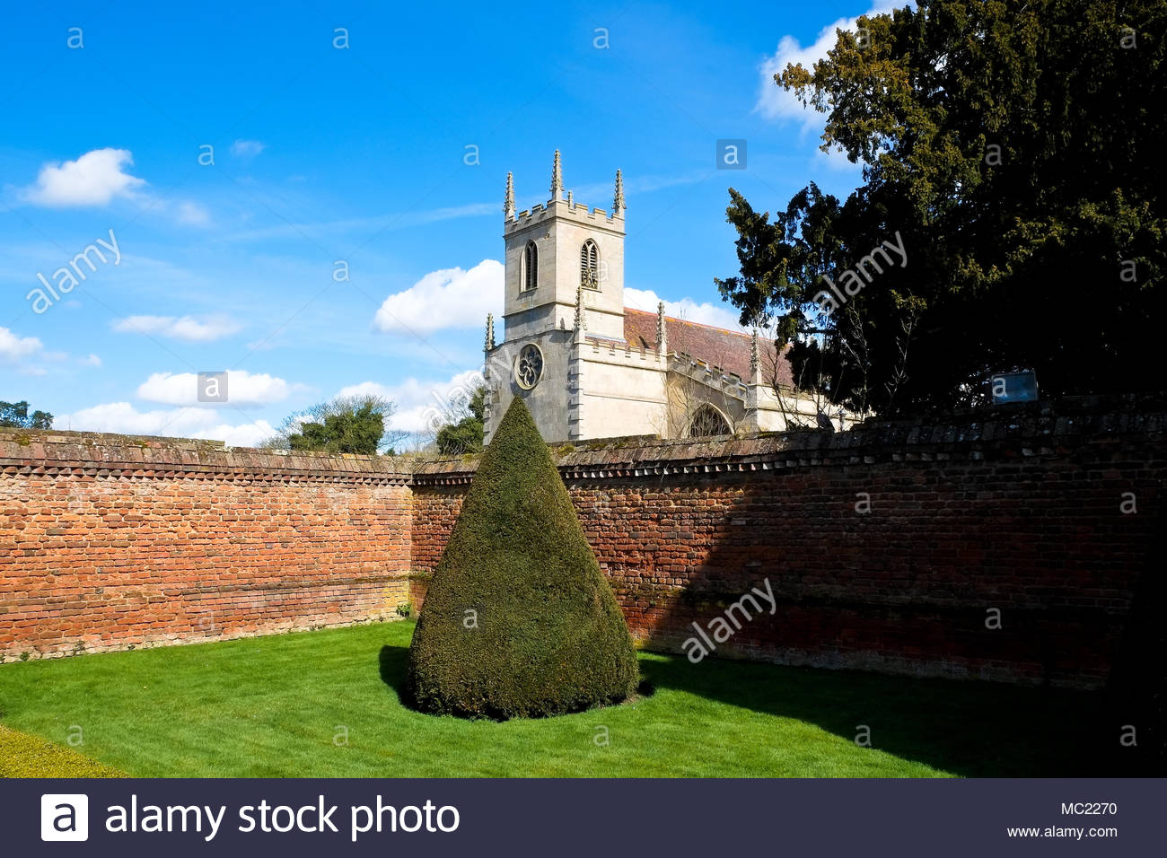Church of St Peter, Doddington, Lincolnshire, UK. - Stock Image
