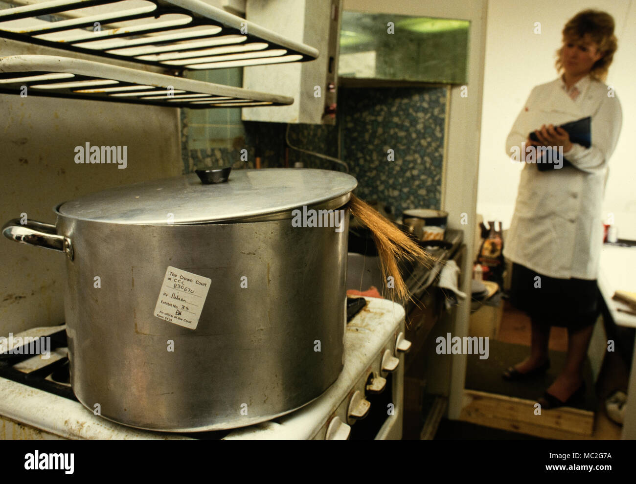 Police Exhibit High Resolution Stock Photography And Images Alamy