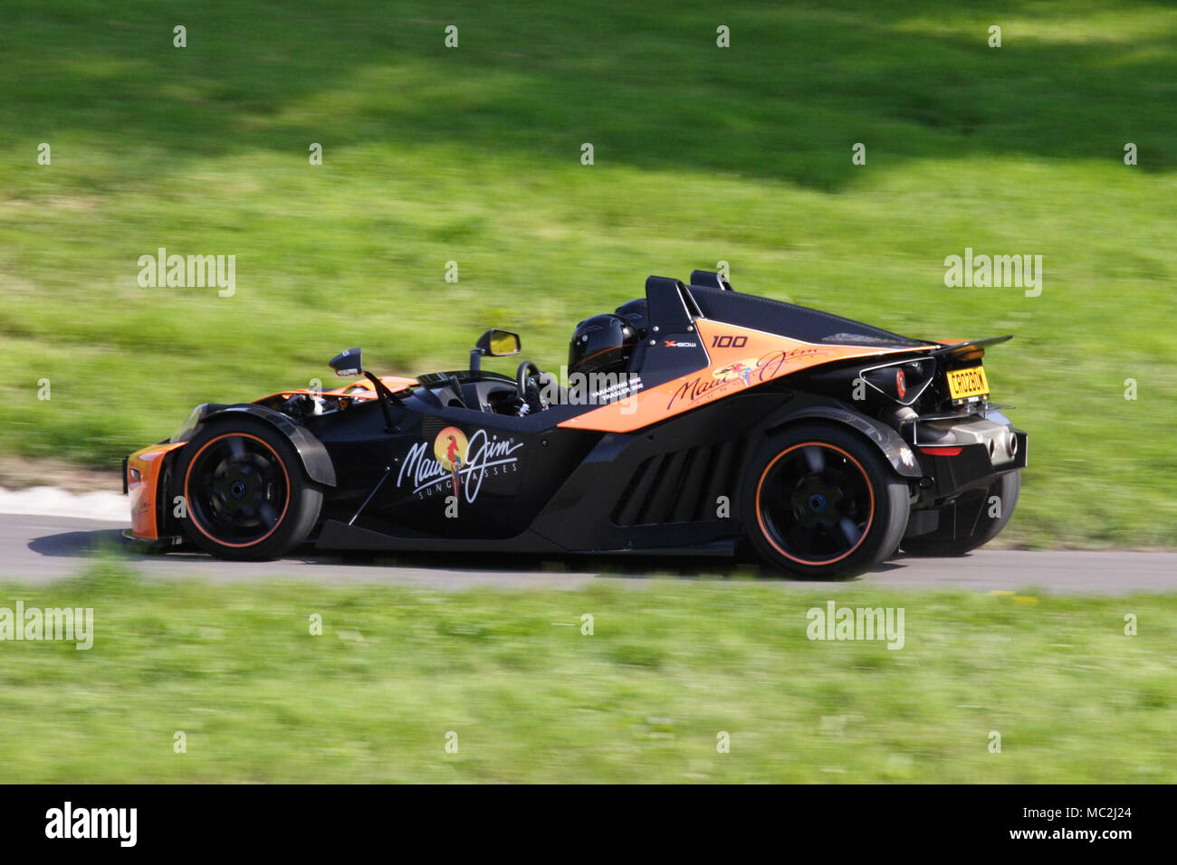 KTM X-Bow lightweight road legal track car or sportscar. - Stock Image
