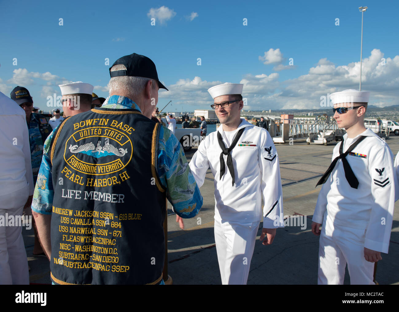 Uss Bowfin Submarine In Pearl Stock Photos & Uss Bowfin Submarine In ...