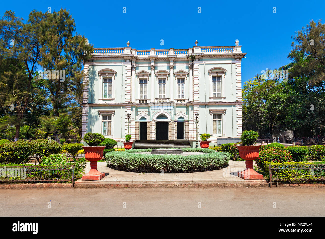 The Dr. Bhau Daji Lad Mumbai City Museum (formerly the Victoria and Albert Museum) is the oldest museum in Mumbai, India - Stock Image