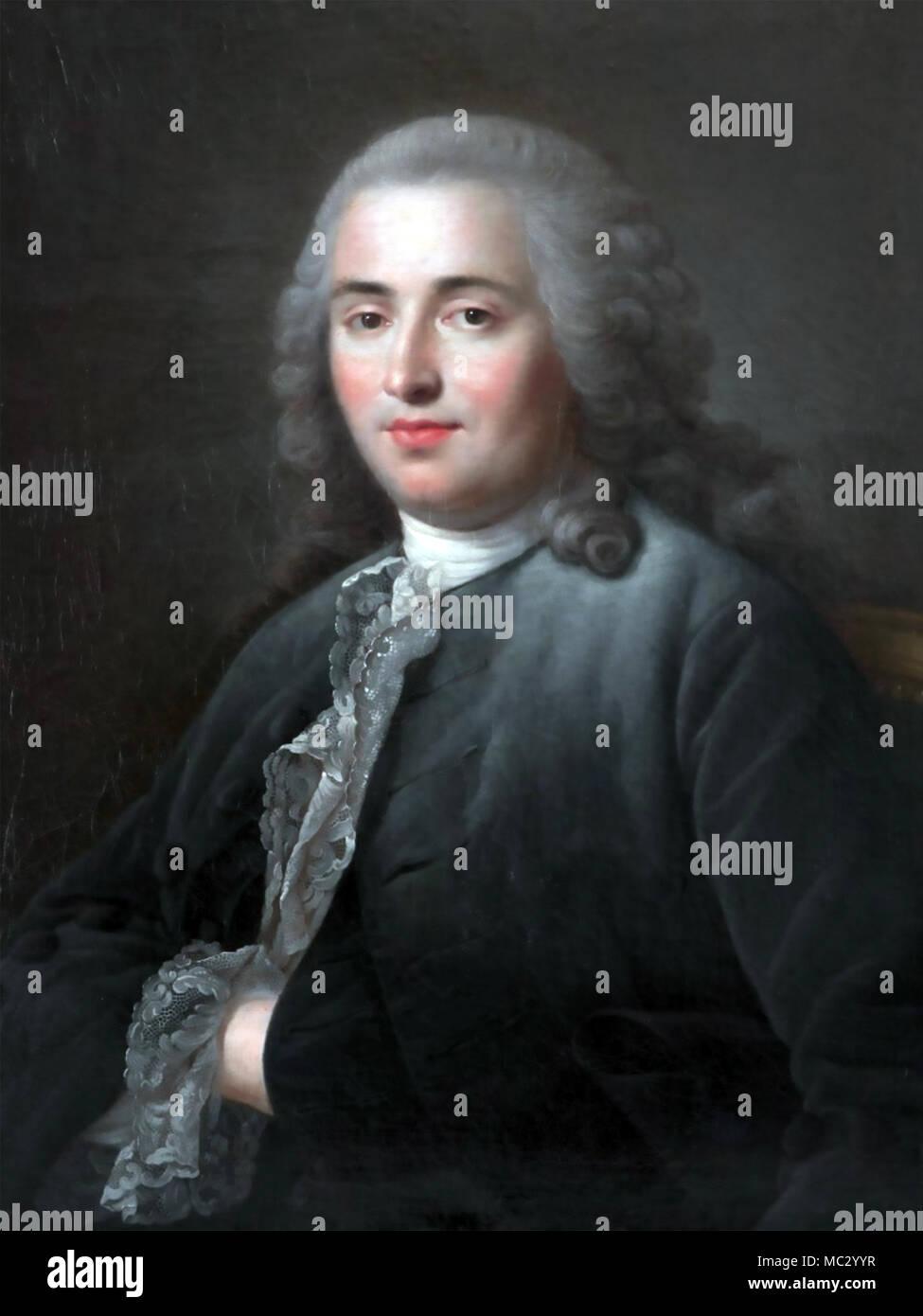MICHEL-ETIENNE TURGOT (1690-1751) Mayor of Paris - Stock Image