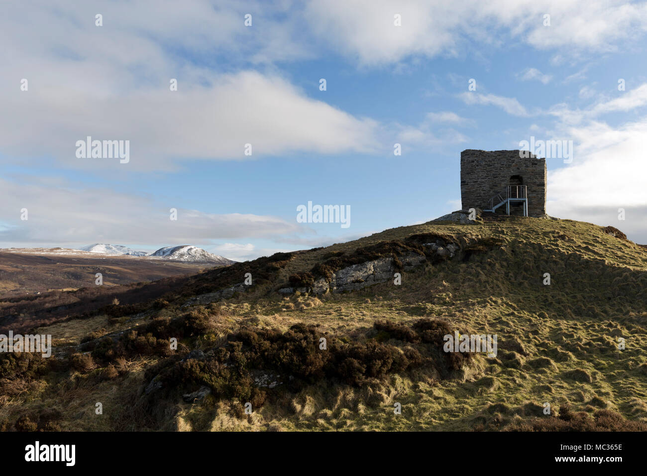 Castle Varrich, Sutherland - Stock Image