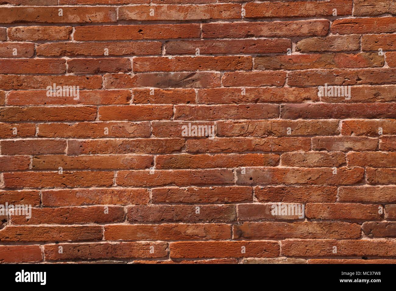 Anuradhapura North Central Province Sri Lanka Jetavanarama Dagoba Red Bricks - Stock Image