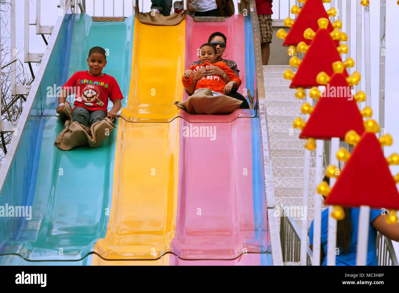 247dd167d582 Fair Fun Slides Slide Stock Photos   Fair Fun Slides Slide Stock ...