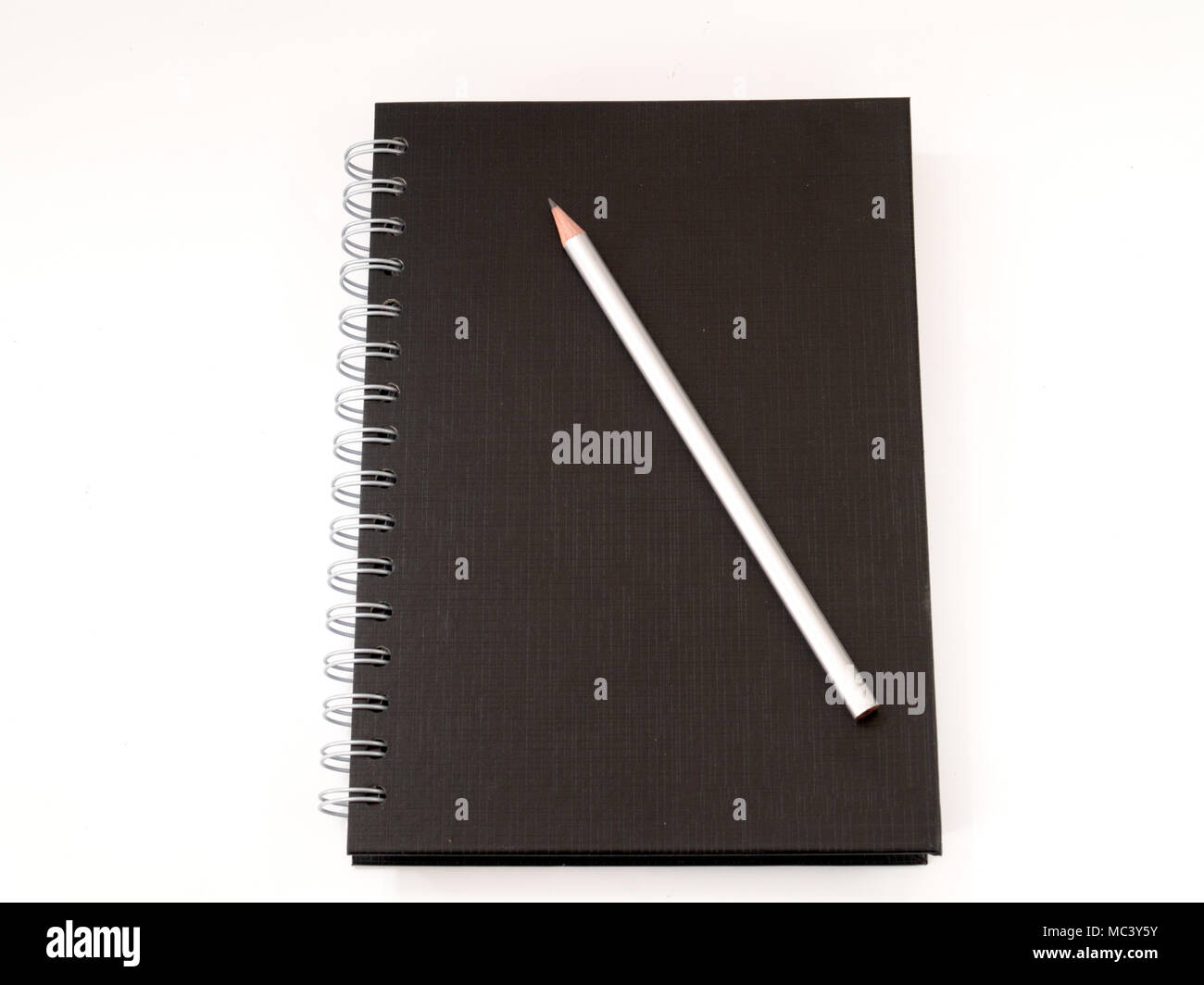 His diary , Multifunction Diary Write down everything , Use in Business. - Stock Image